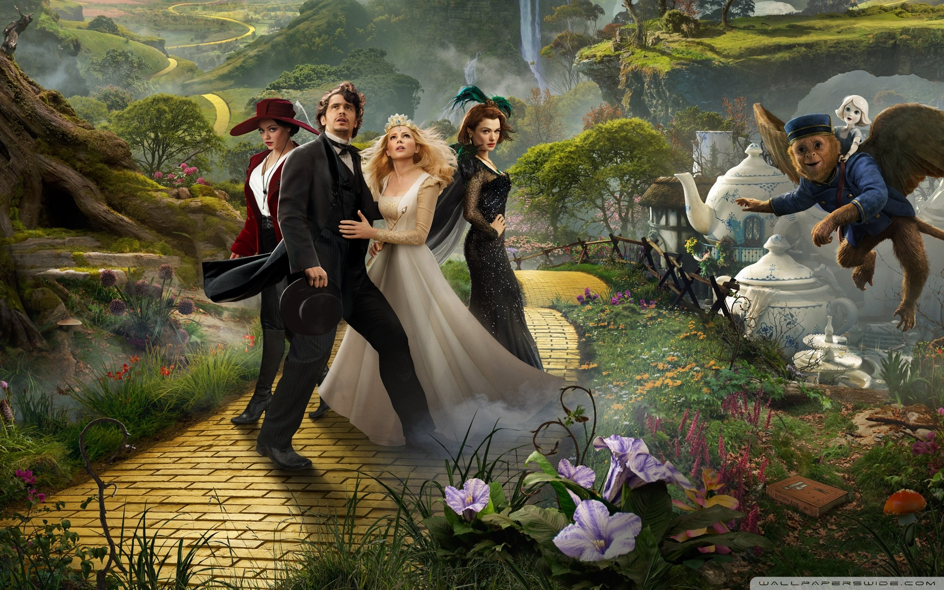 Oz The Great and Powerful Fantasy Movie