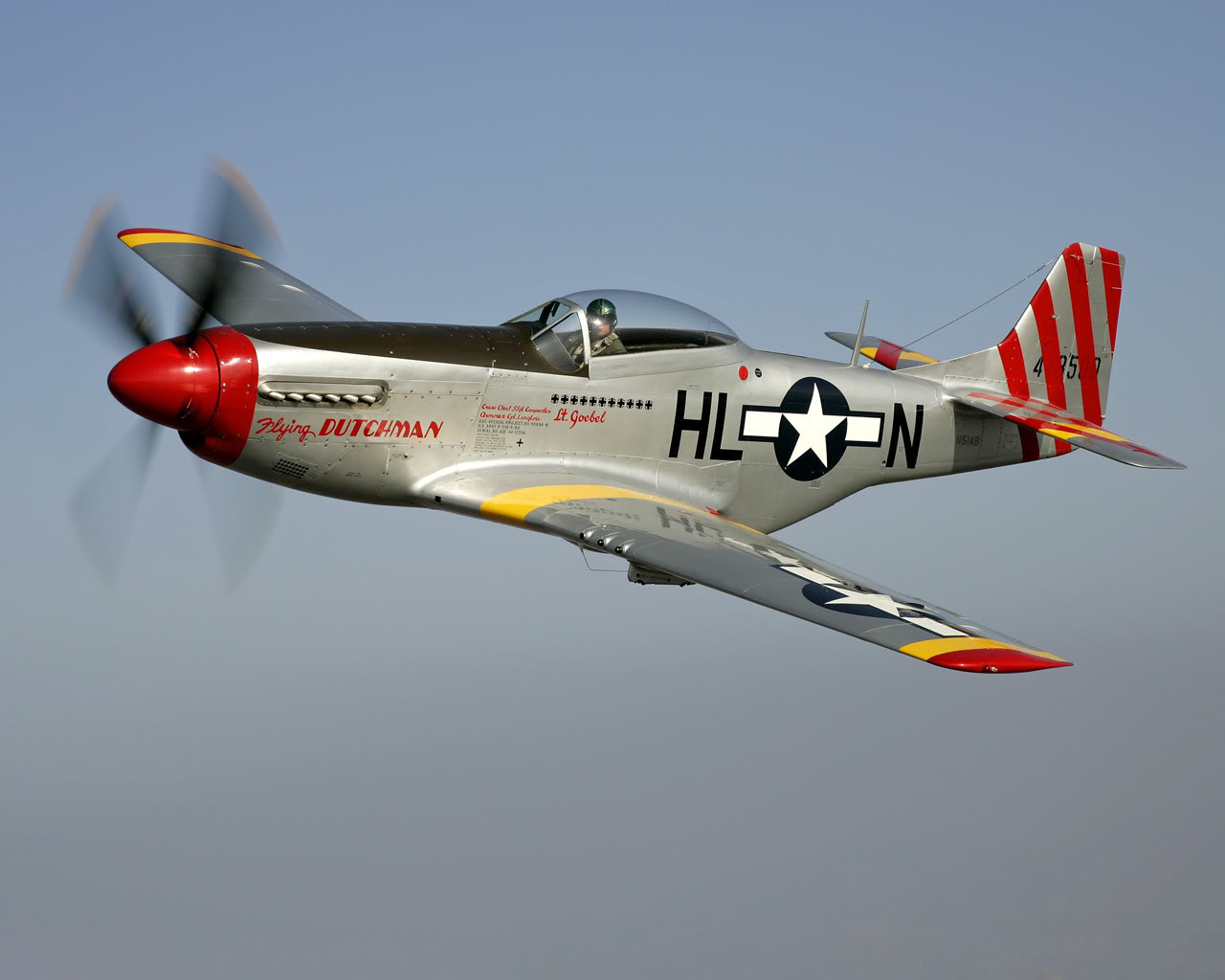 "P-51 Mustang ""Flying Dutchman"" [Skin Request]"