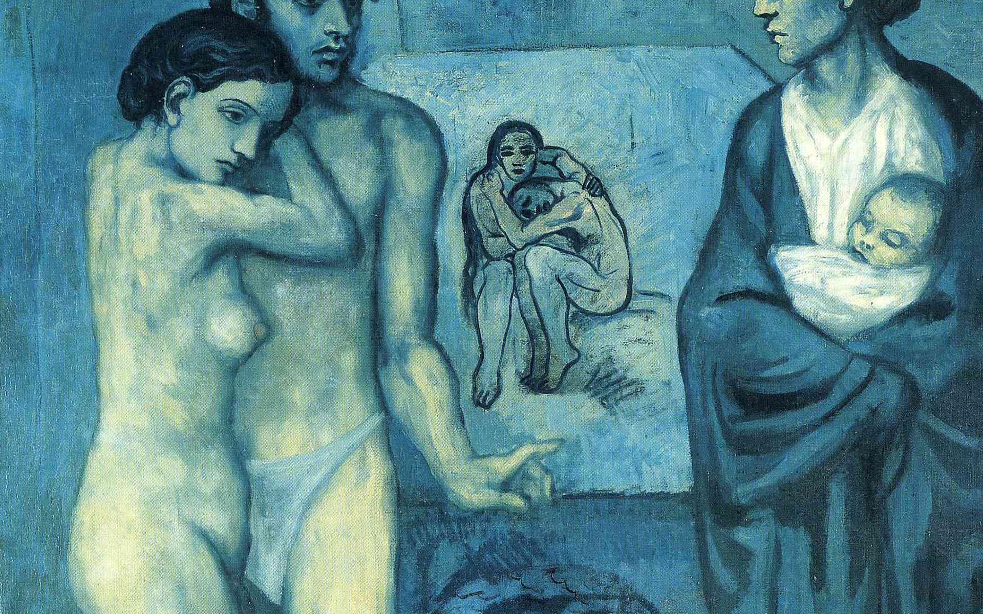 Pablo Picasso Wallpaper, Life