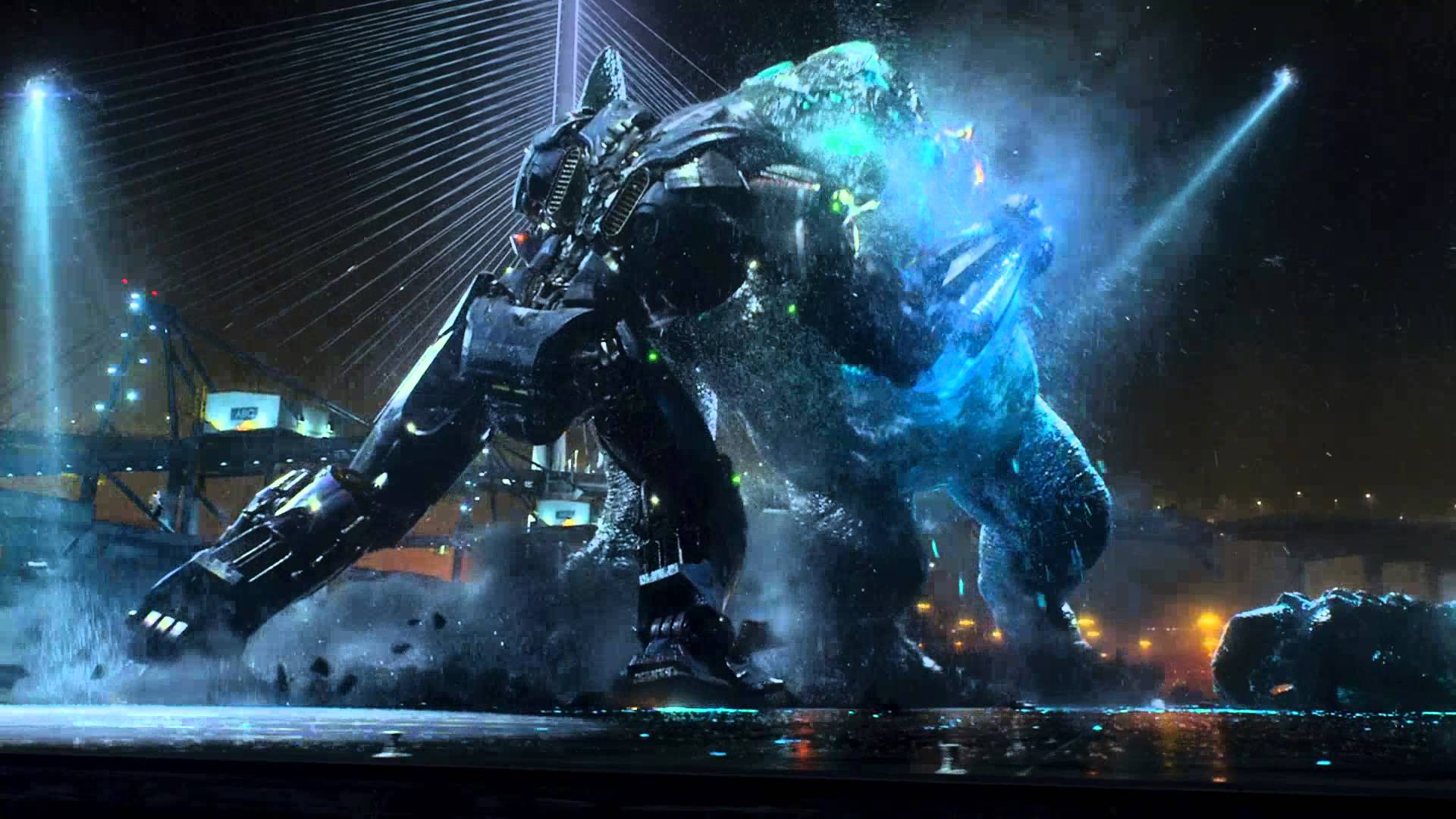 Pacific Rim epic battle 5/5 FULL HD
