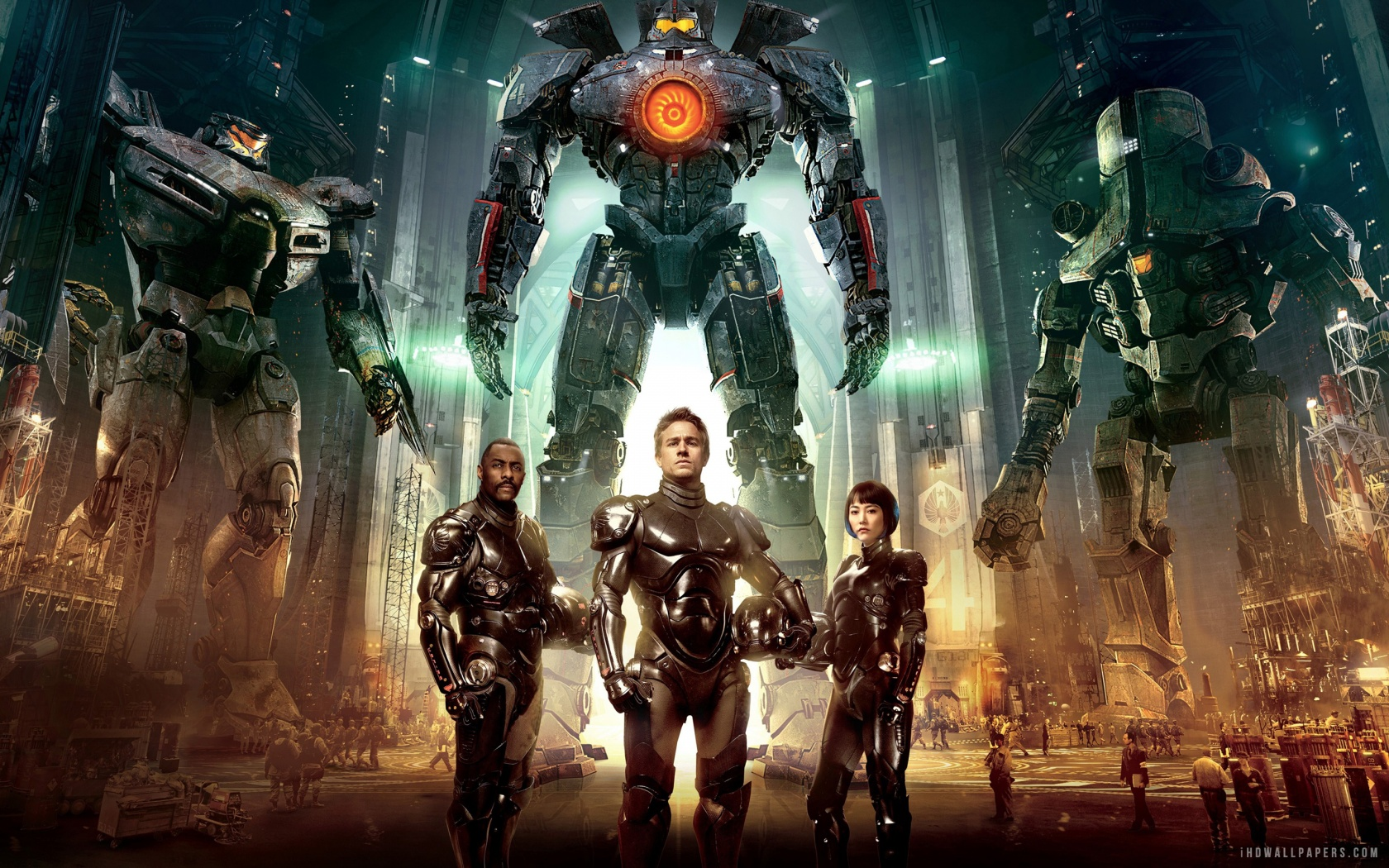 Pacific Rim Wallpaper Poster