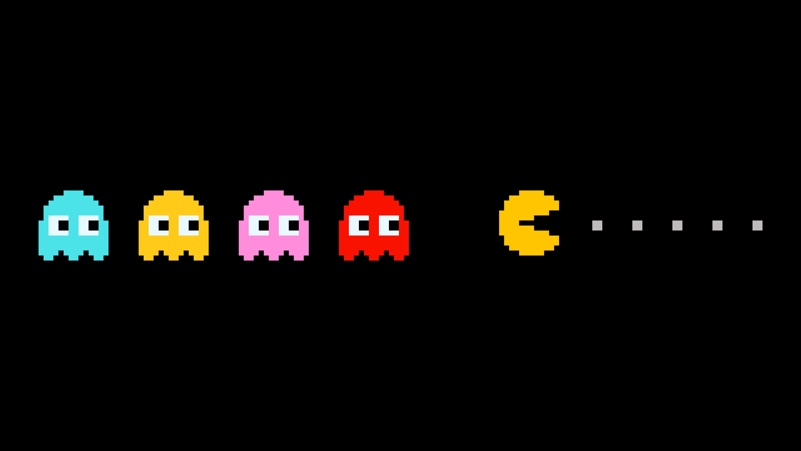 Pacman Games Wallpaper HD For Desktop | WALLSISTAH.COM