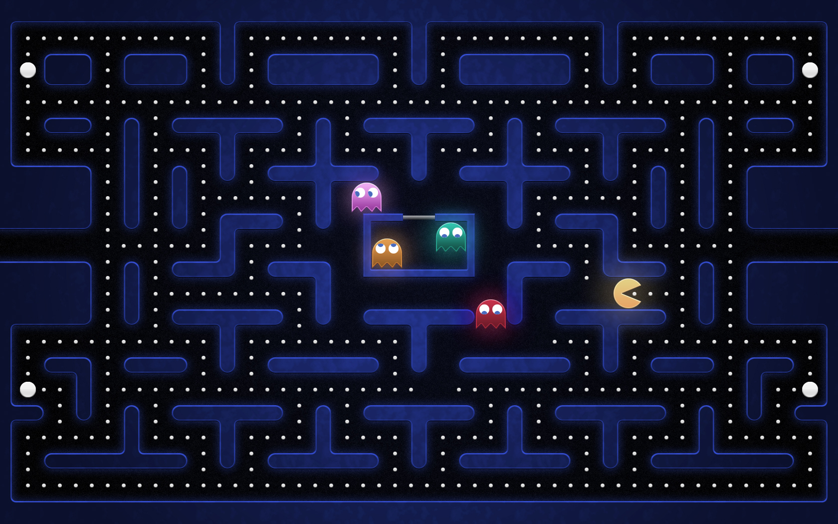 wallpapers game Pac-man wallpapers