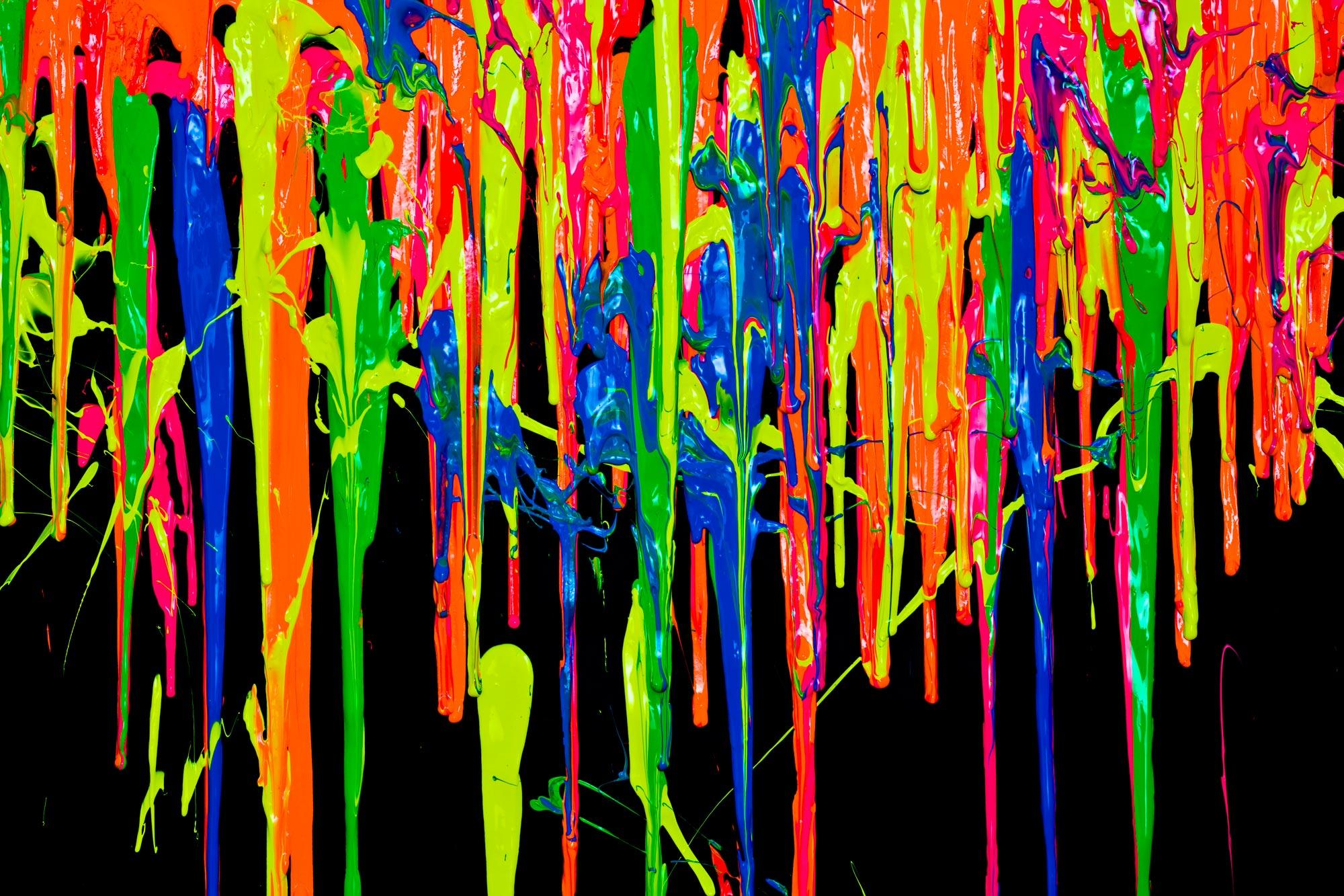 Colorful Paint Wallpaper 2000x1333