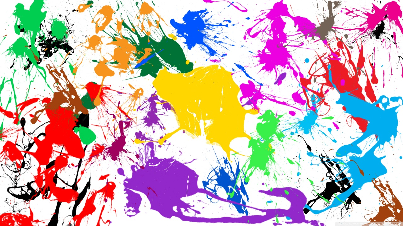 download paint splatter background - photo #22