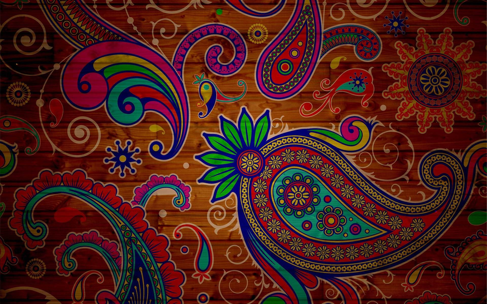 Paisley Wallpaper