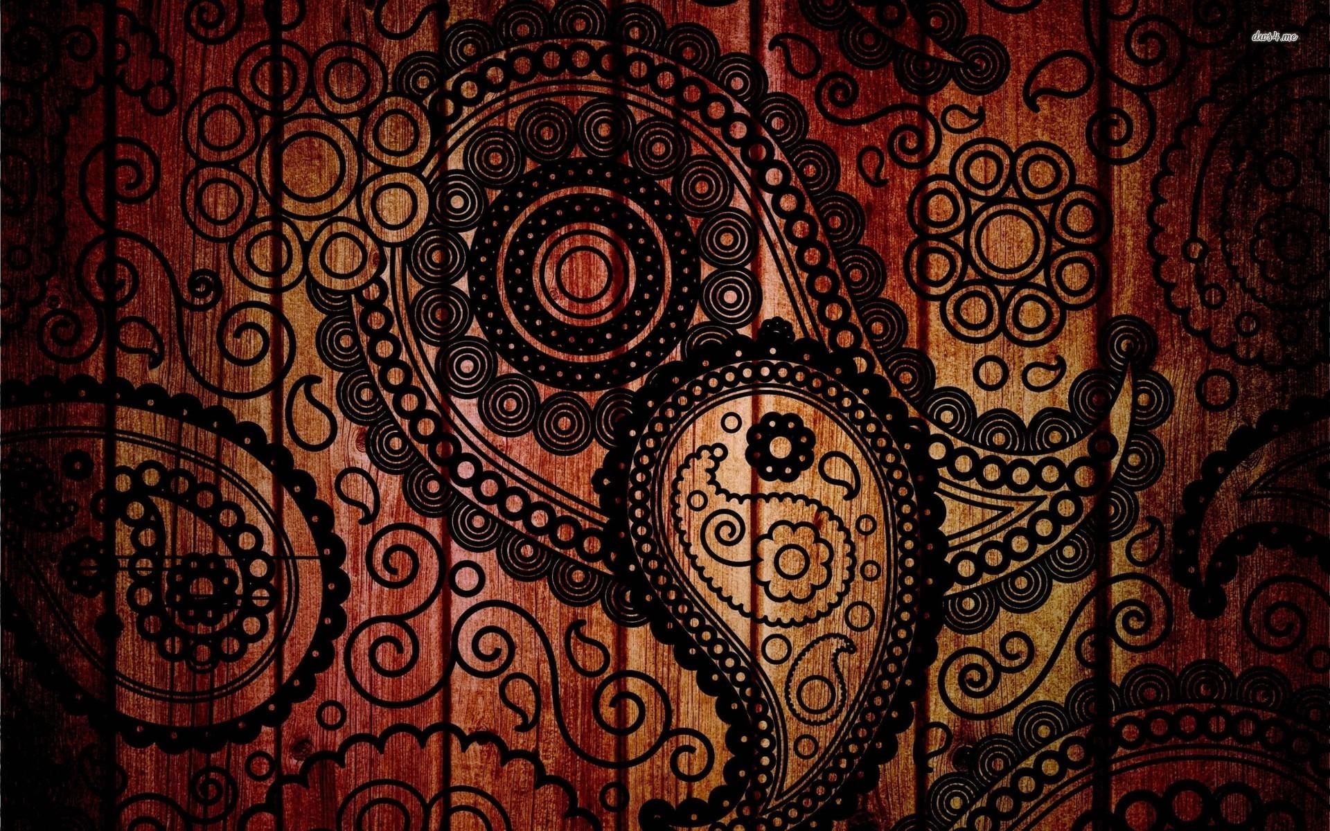 Hd Wallpapers Abstract Paisley ...