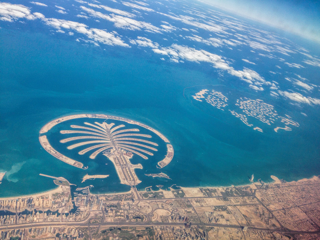 ... Palm Jumeirah & The World - Dubai, UAE (23 October 2013) | by