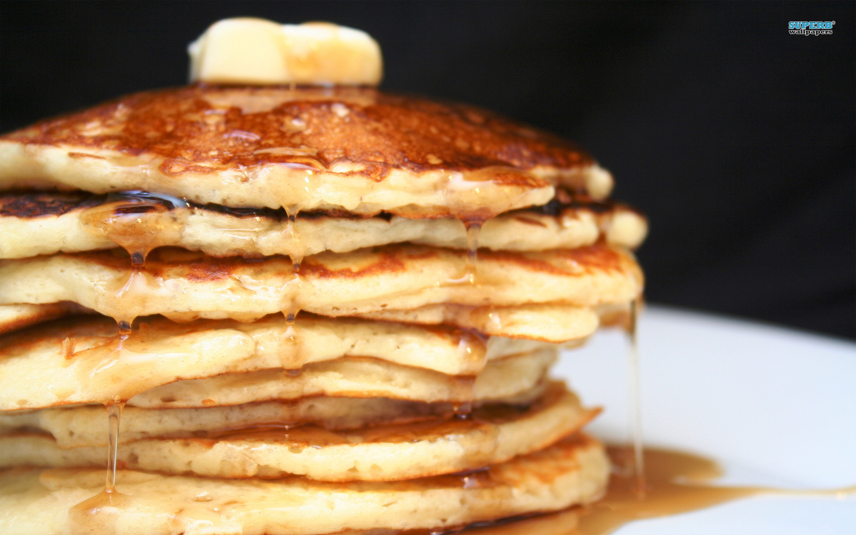 Pancakes wallpaper 1680x1050
