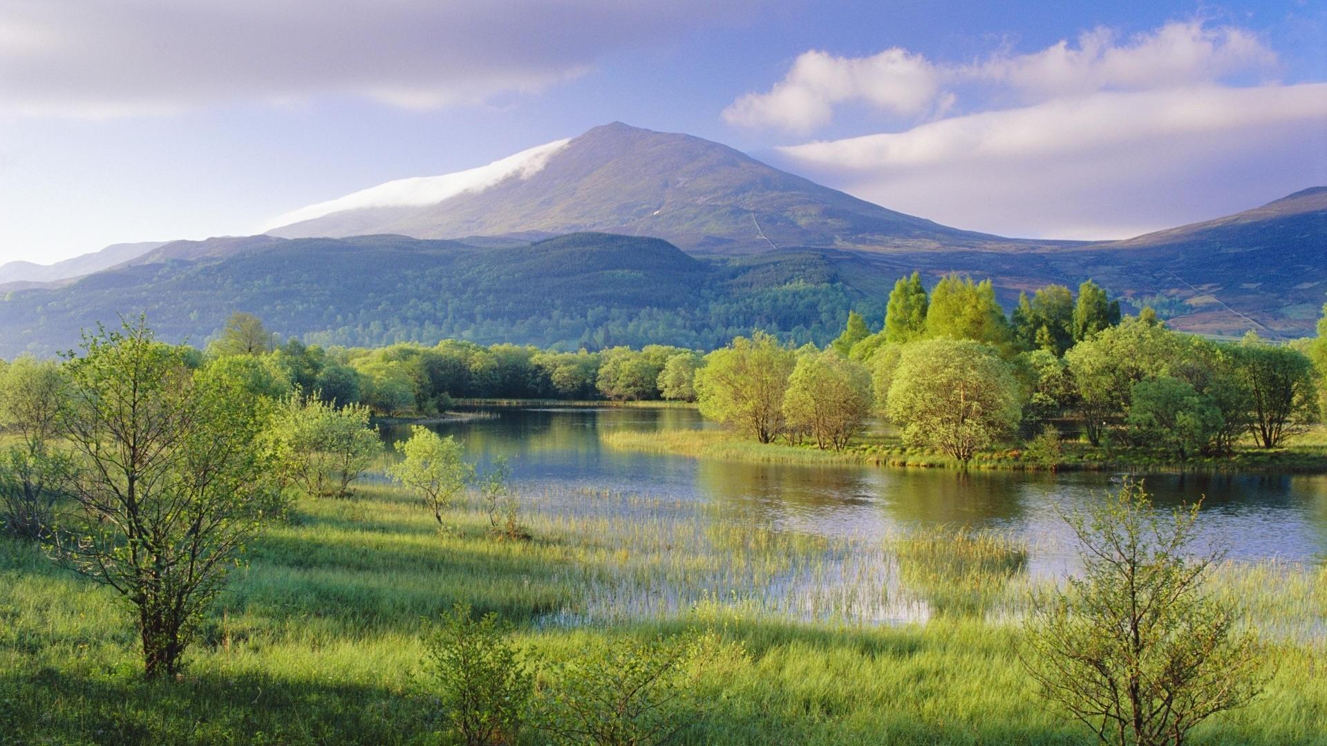 Scenic Landscape Wallpaper: Scenic Wallpaper Scene Panorama Nature Lakes Landscape Your Hd 1920x1080px