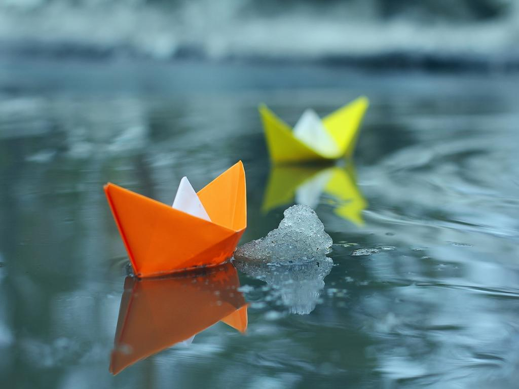 Paper Boat HD Wallpapers-1