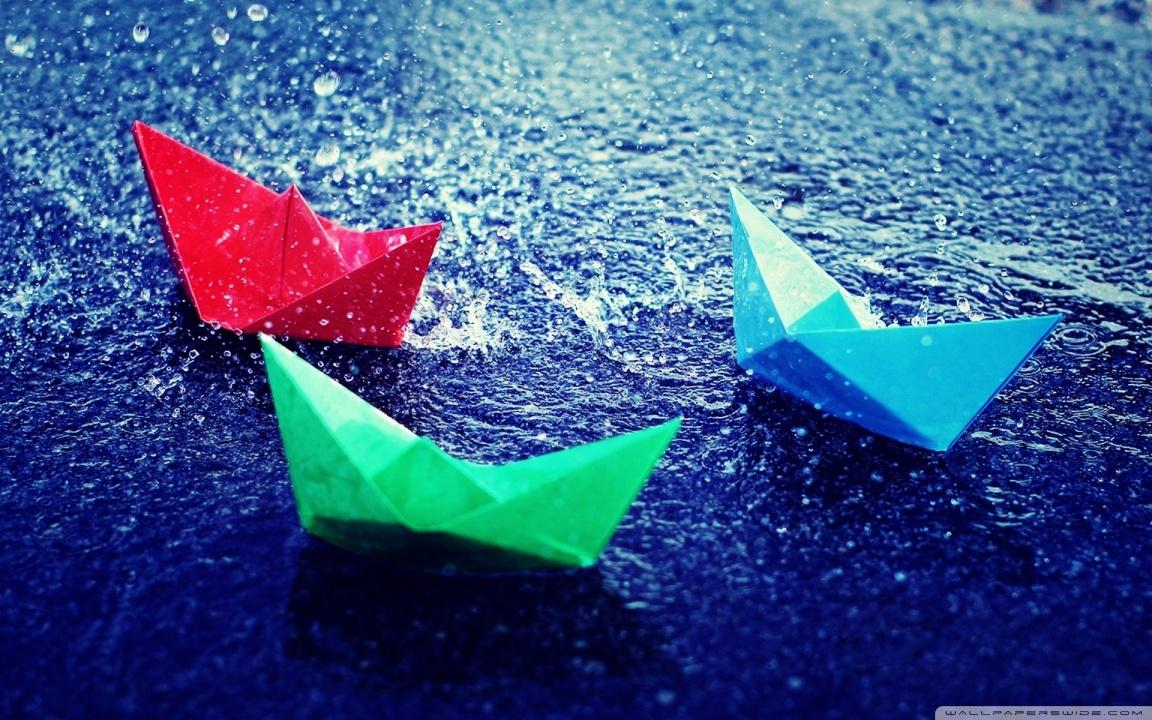Paper Boats Rain