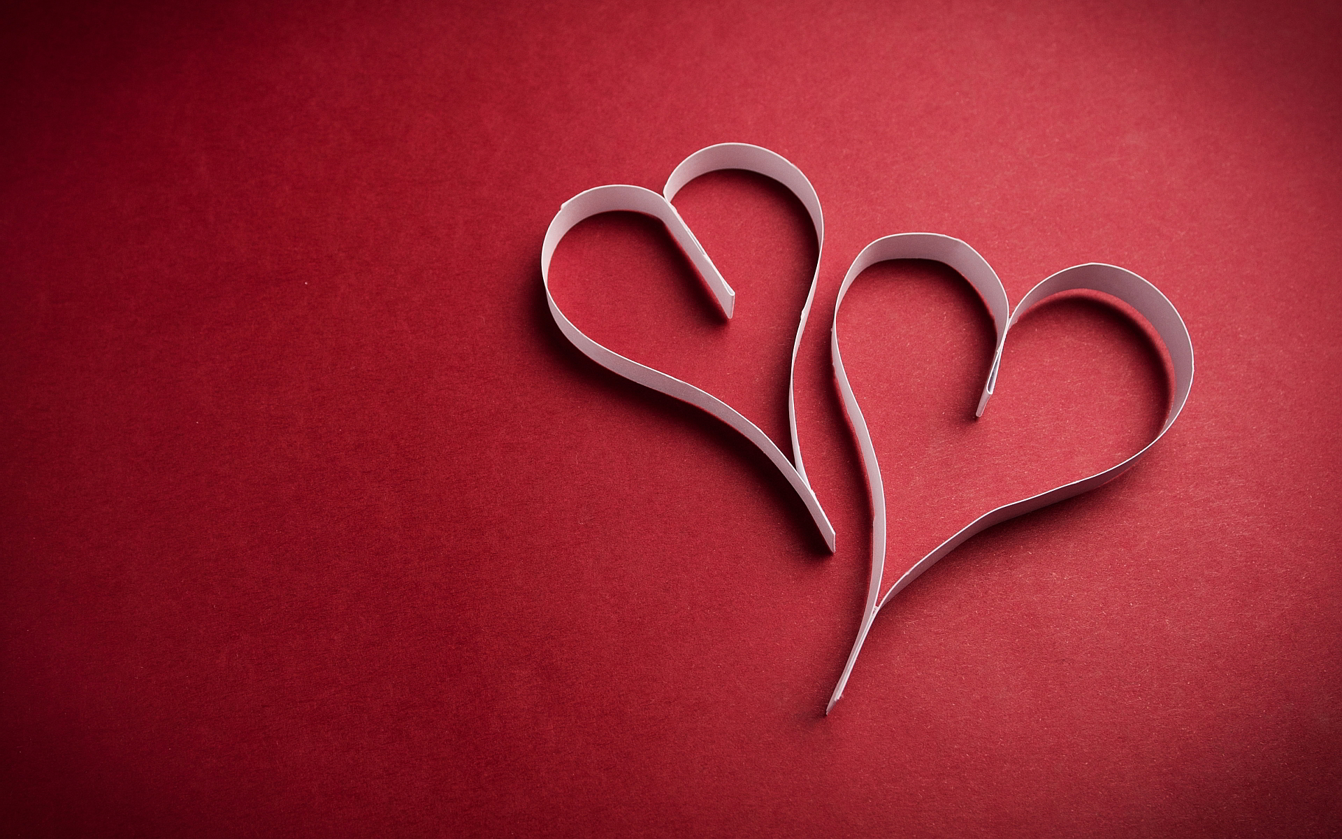 Paper strips heart
