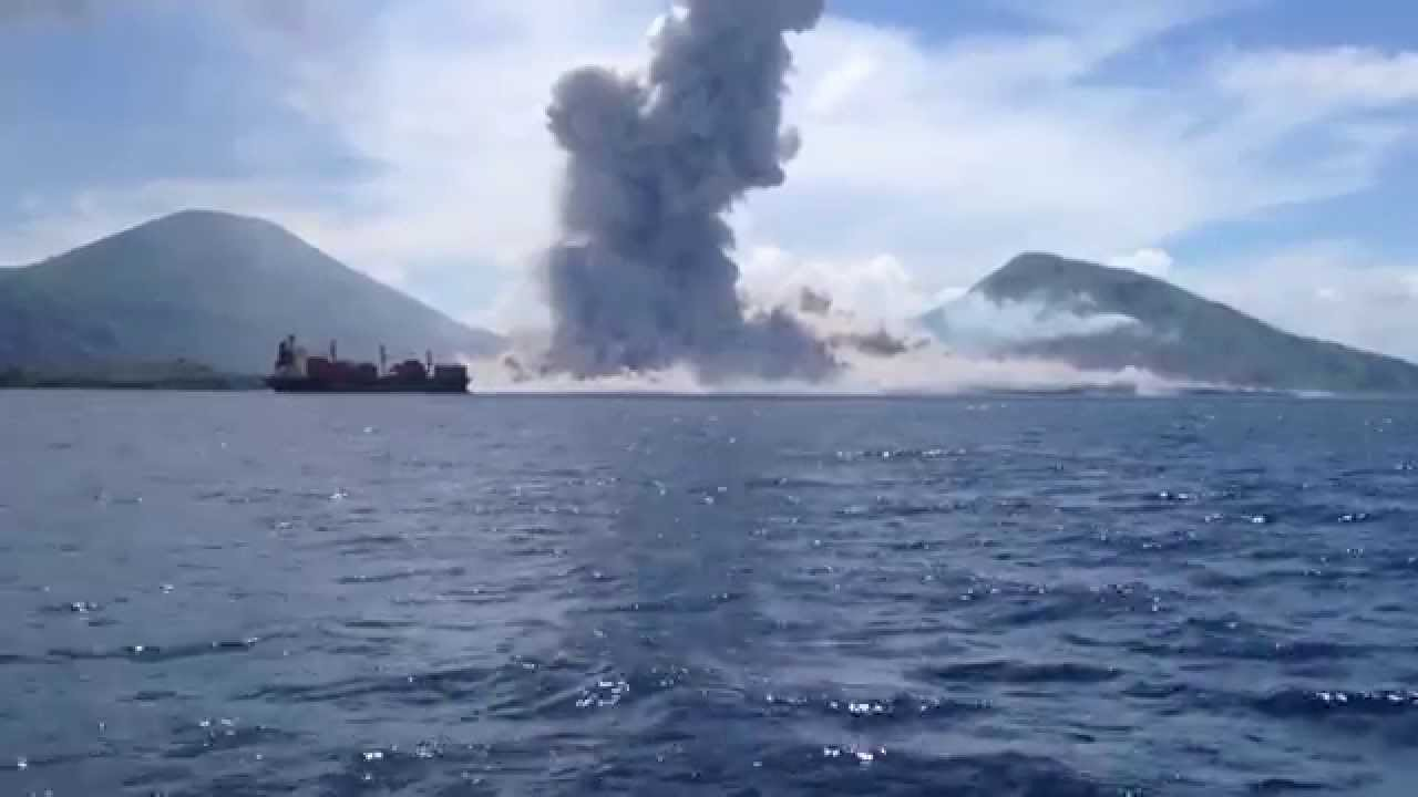 Volcano Eruption in Papua New Guinea