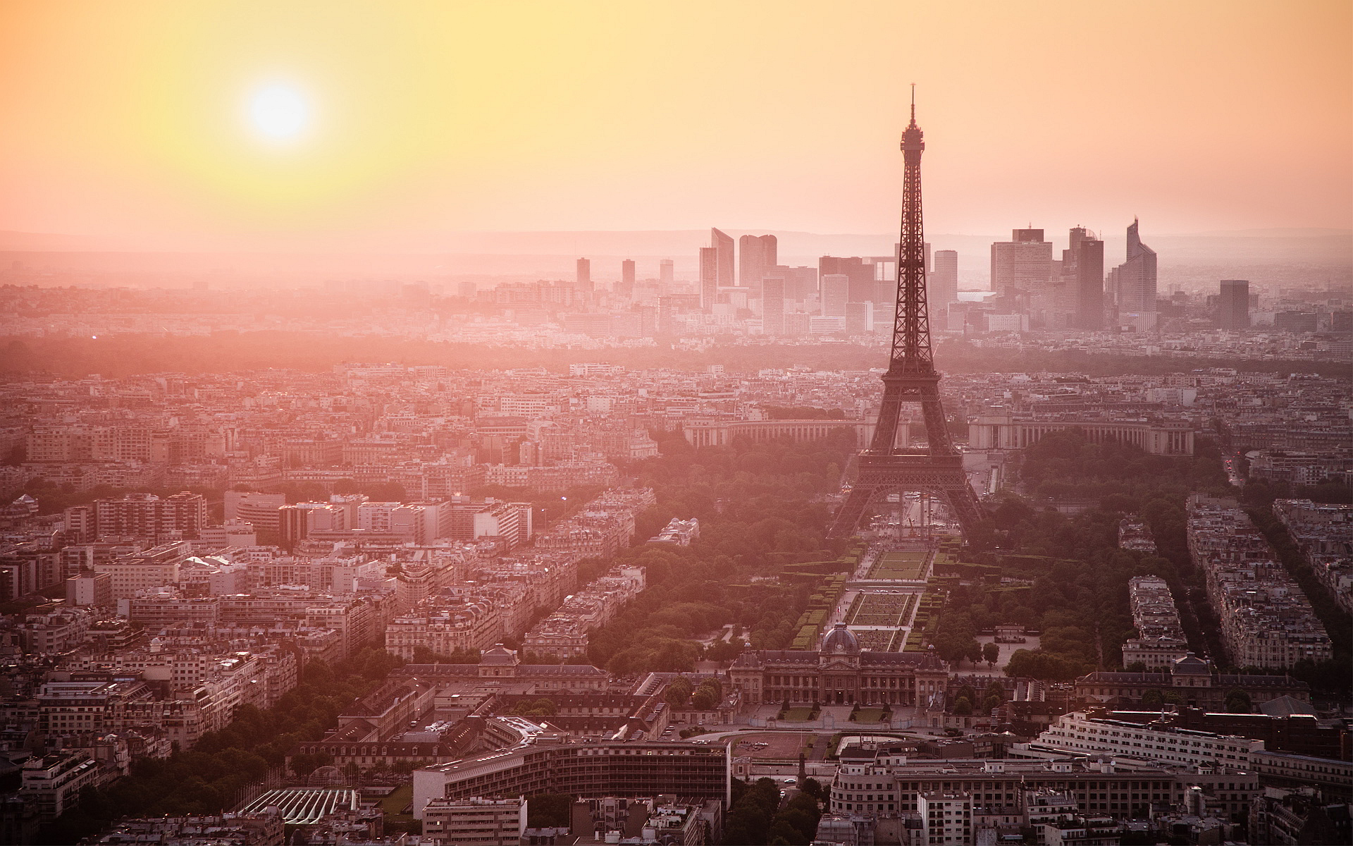 Paris Morning Dawn