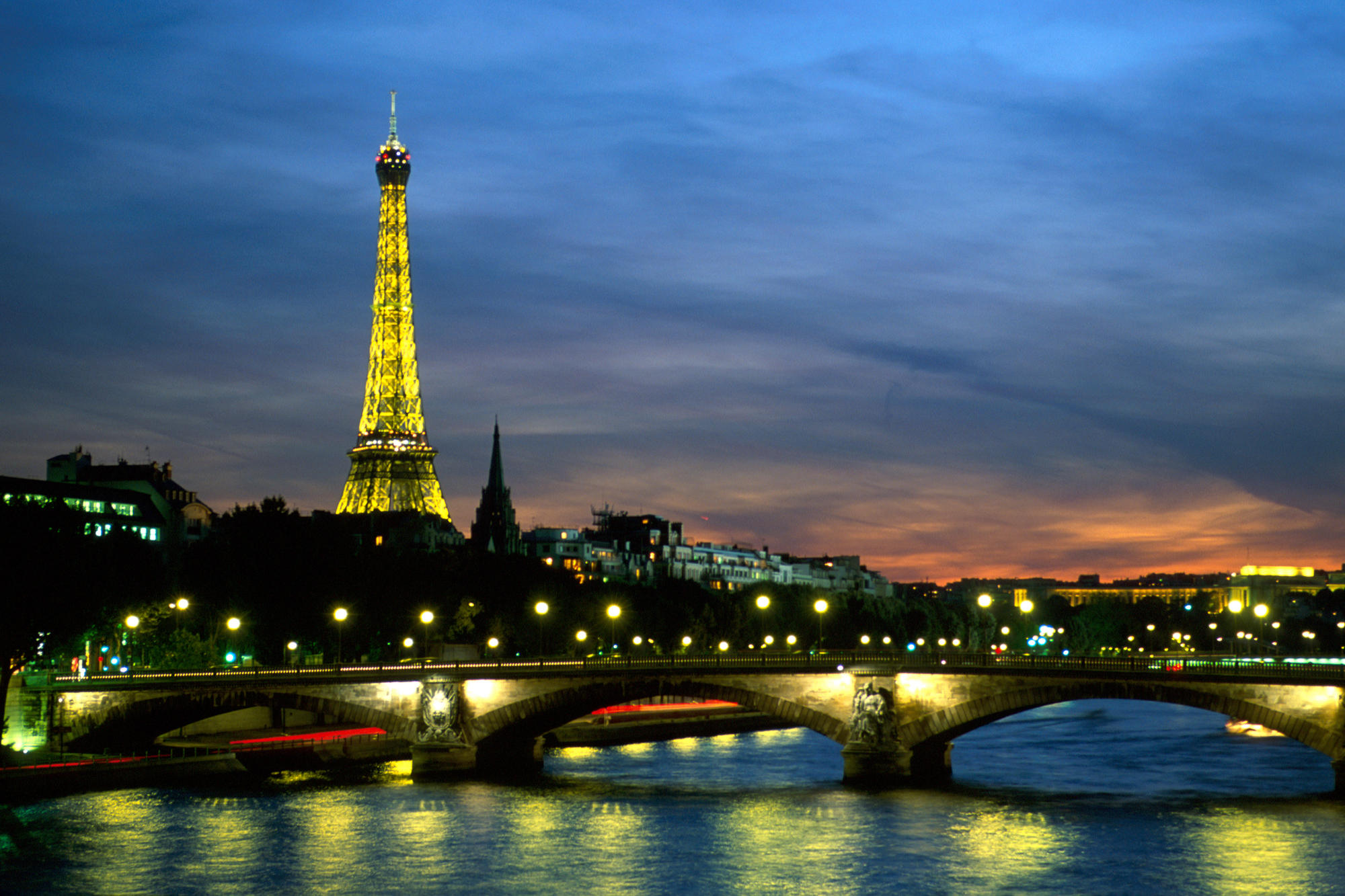 Paris seine river france