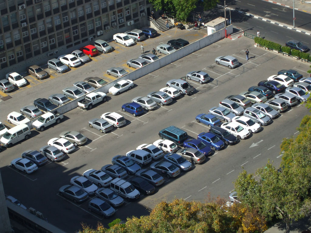 File:Tel Aviv parking lot.jpg