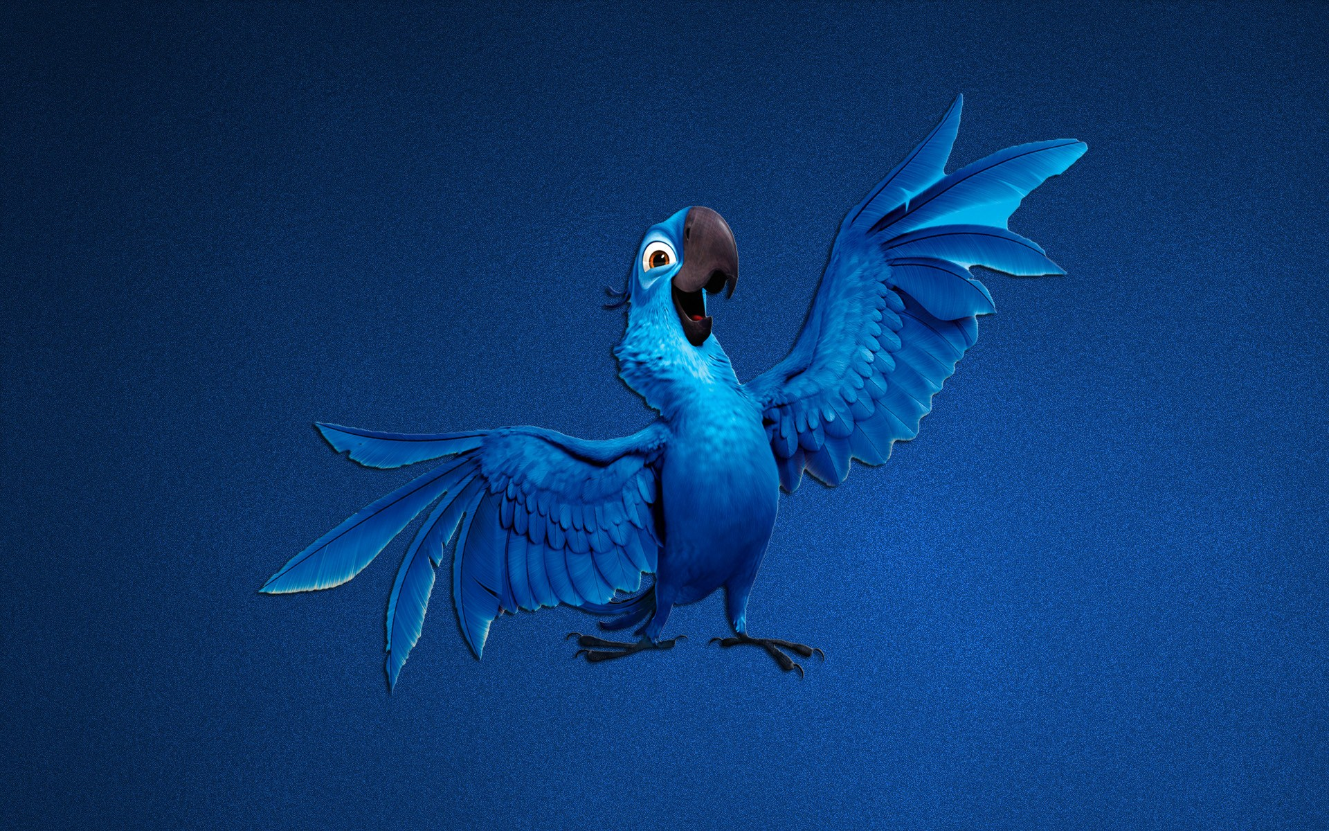 Parrot Blue Art Cartoon