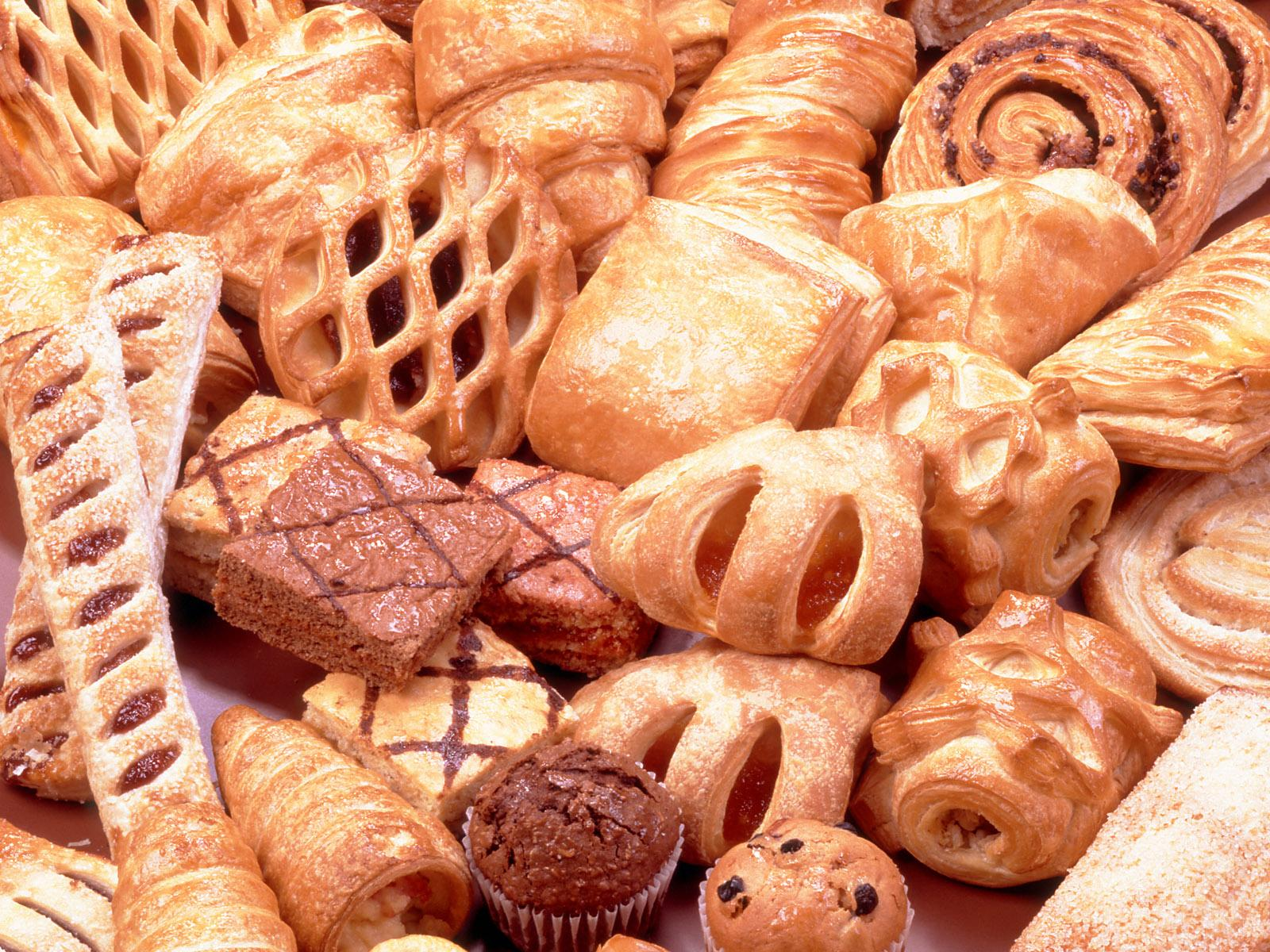 Tasty sweet pastries