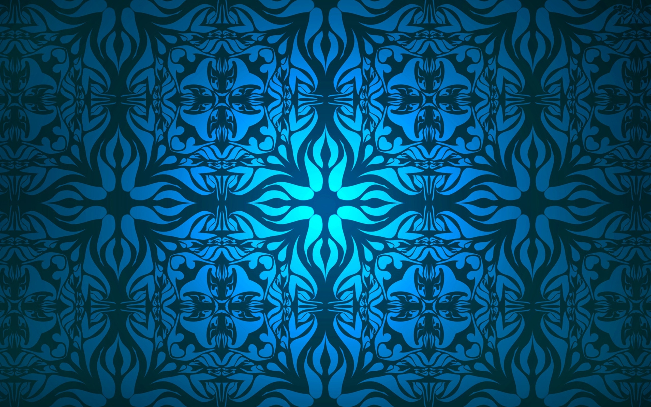 Blue Pattern Desktop Background