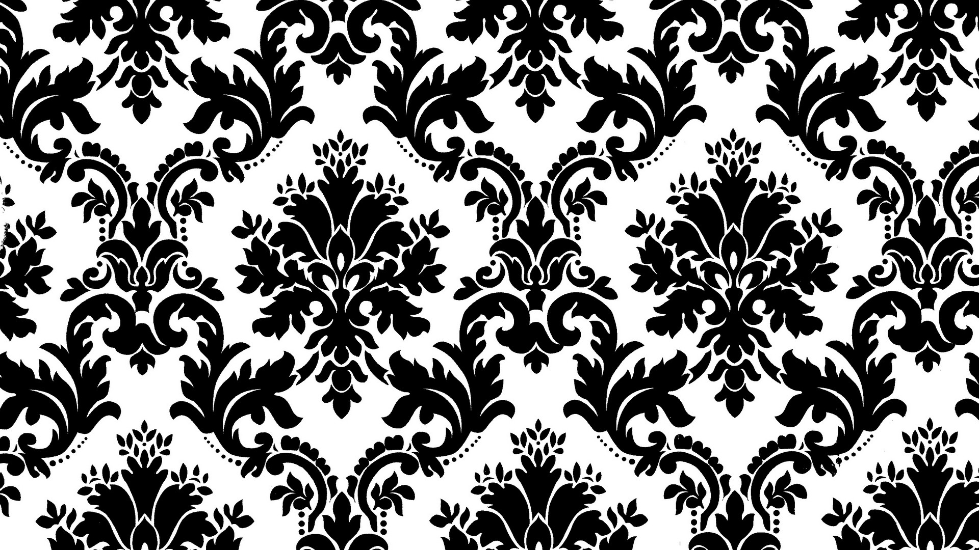 Black and White Pattern Wallpaper 1249