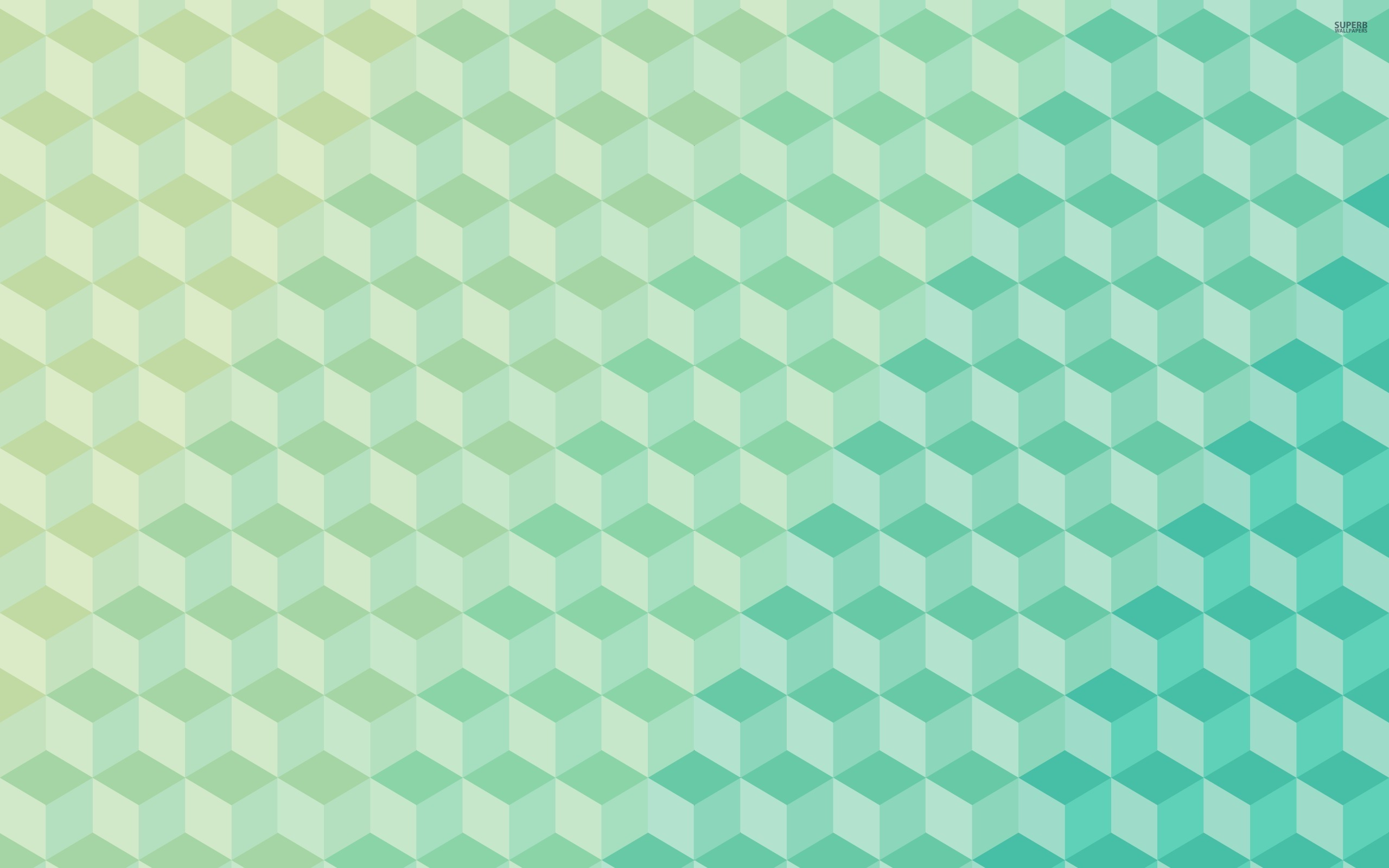 Cube pattern wallpaper 2560x1600