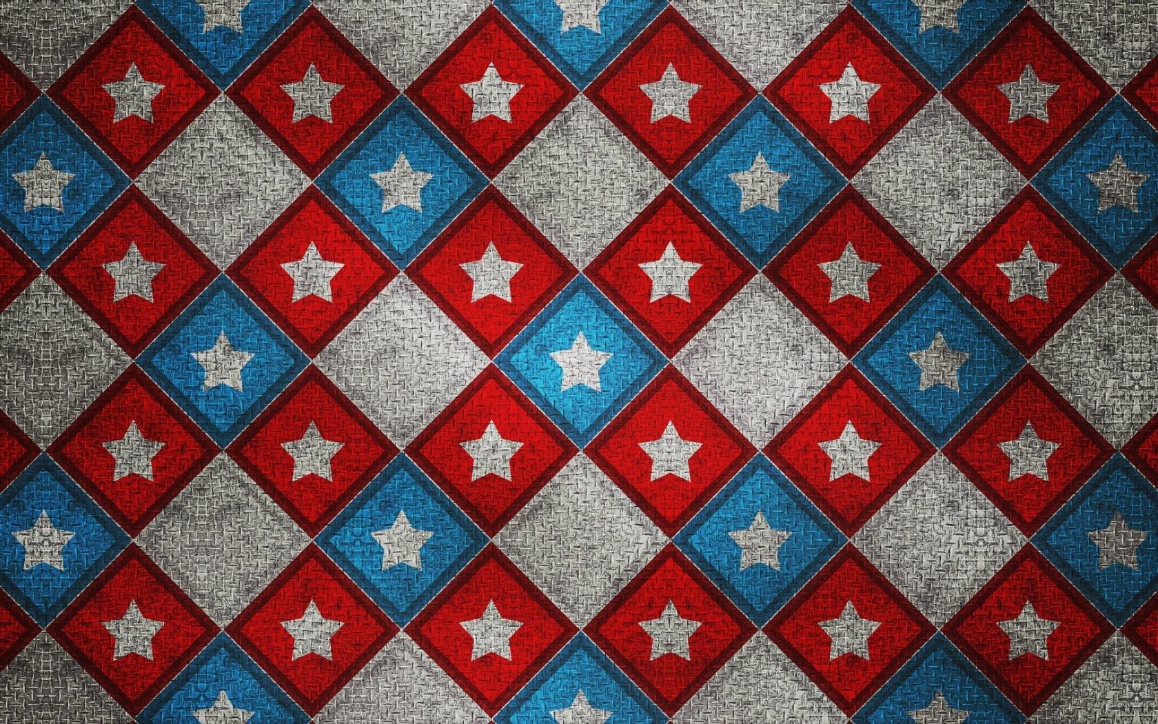 Patterns Squares Stars
