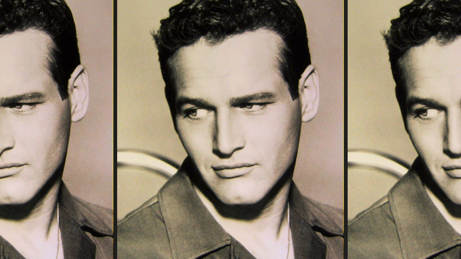 A POSTCARD Paul Newman – Unforgettable