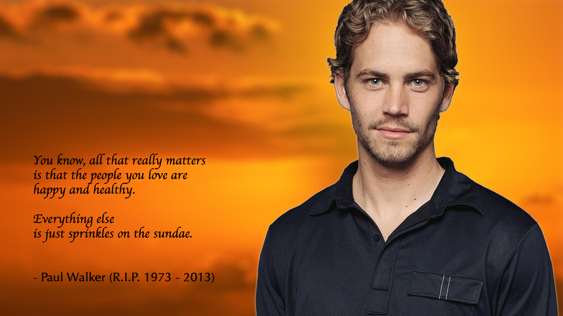 RIP Paul Walker by IsimudtheMessenger RIP Paul Walker by IsimudtheMessenger