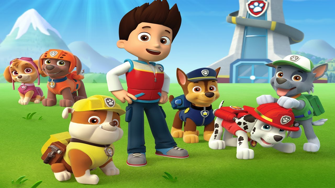 Paw Patrol Full in English - Pups Save Their Friends! - Disney Movies