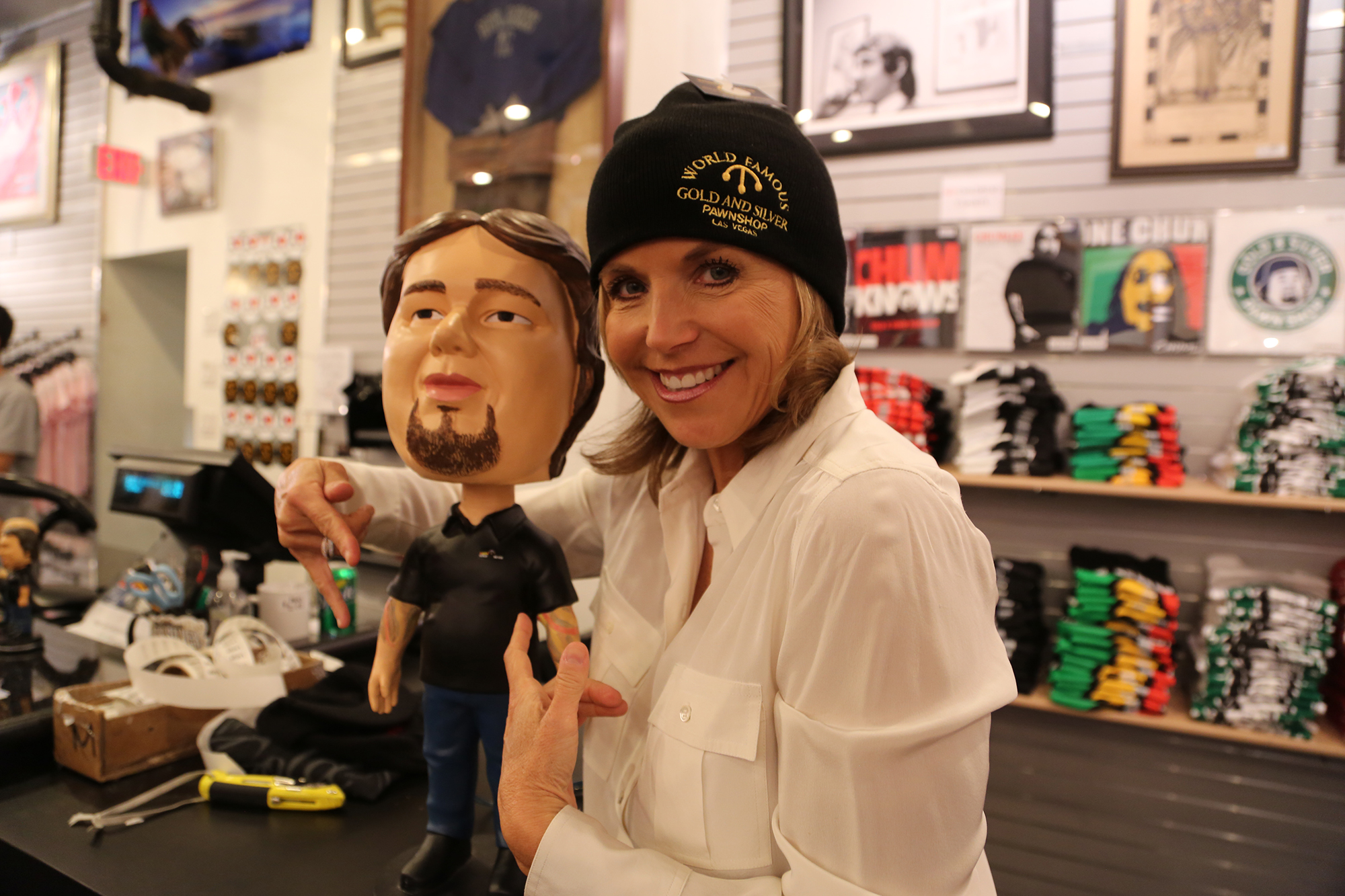 Be sure to tune in and check out Katie Couric's interview with the Pawn Stars as she also discusses her visit to the Gold & Silver Pawn Shop in Las Vegas!