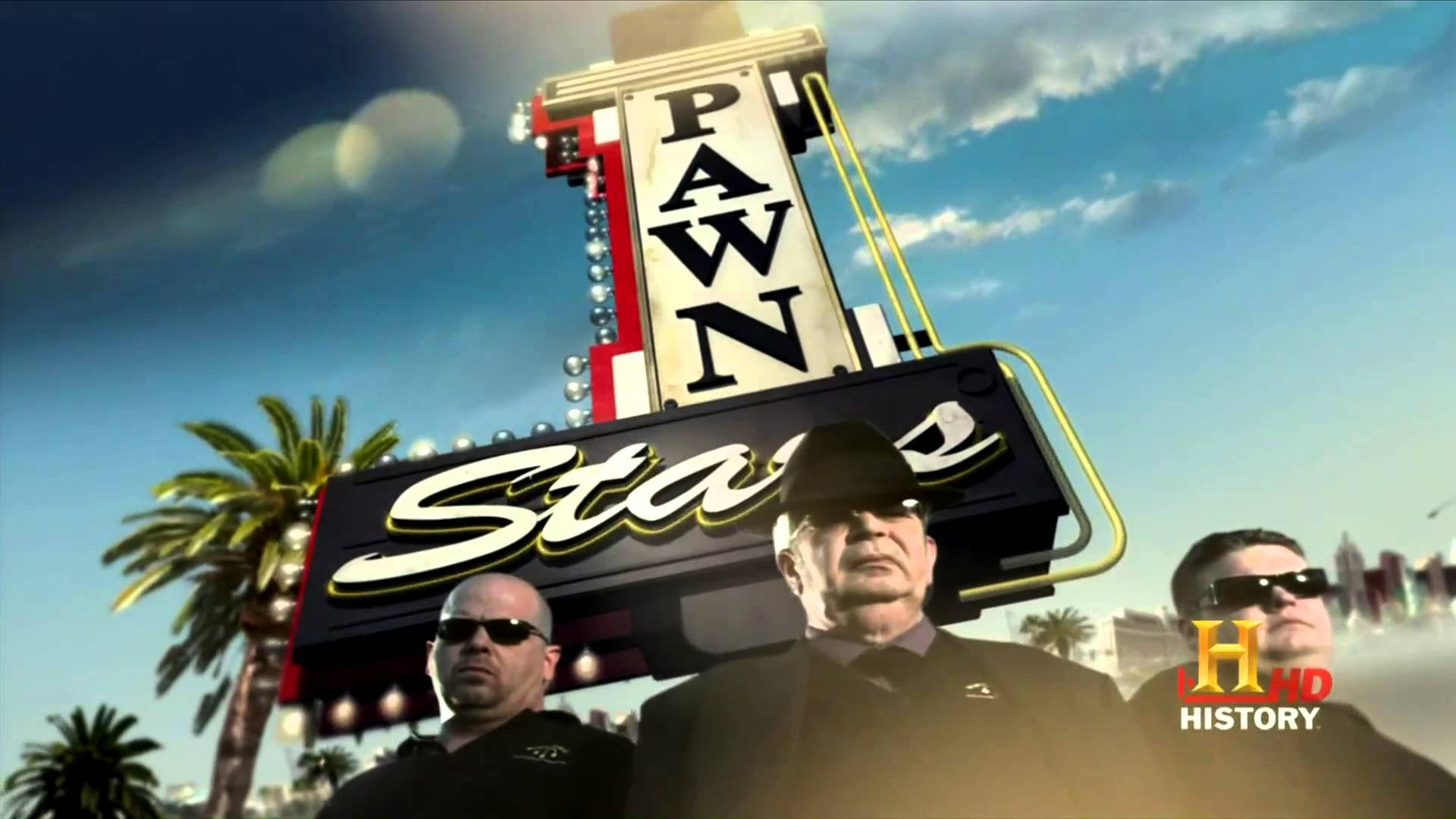 Pawn Stars Old & New Intro 1080p HD