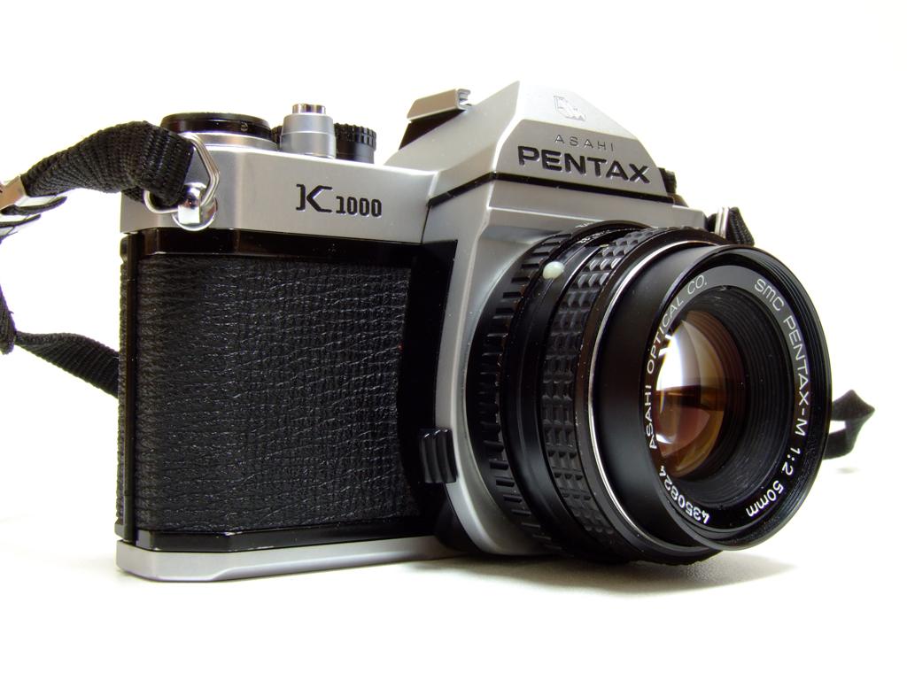 Pentax K1000 ...