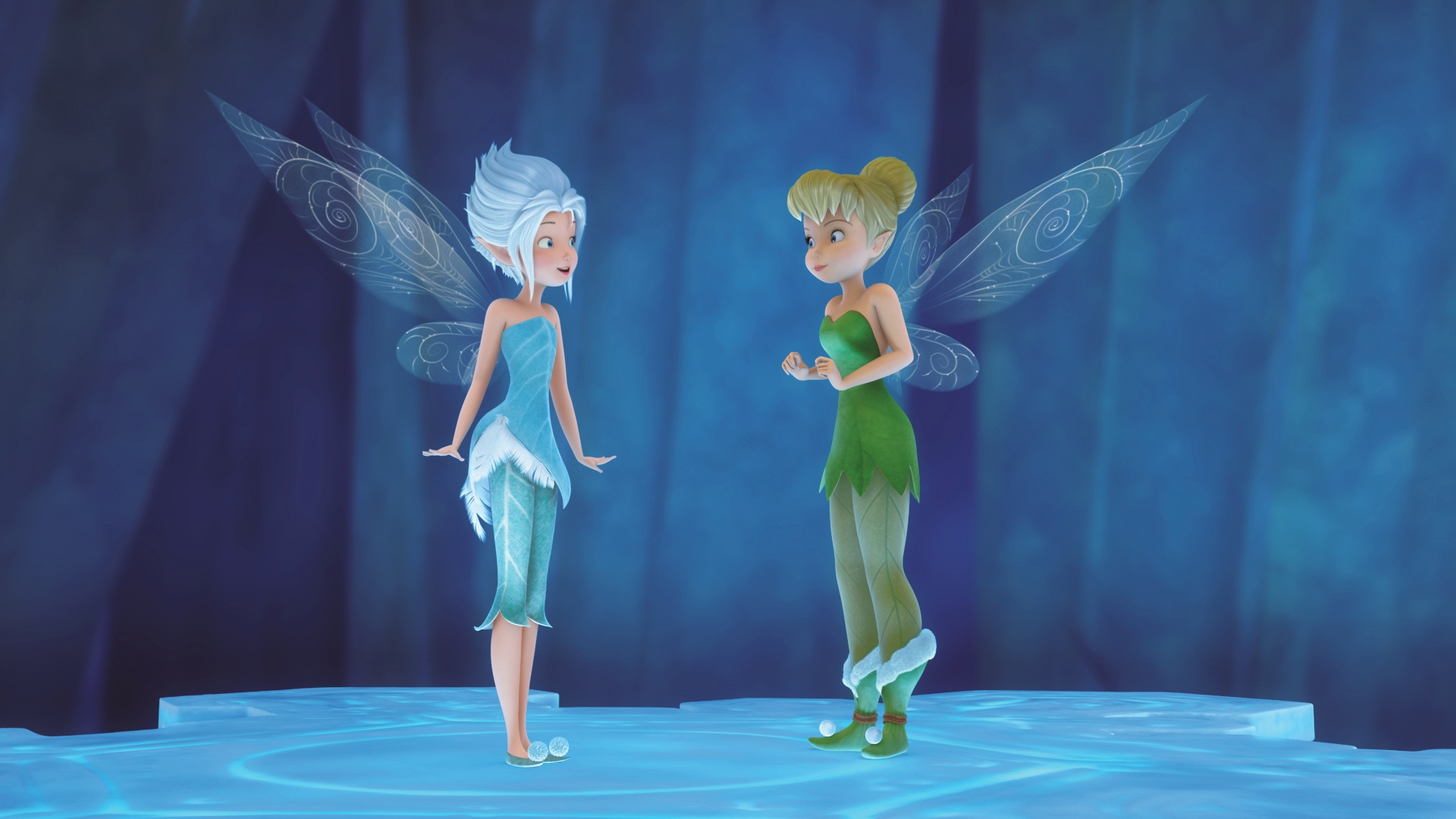 Tinkerbell & the Mysterious Winter Woods TinkerBell & PeriWinkle