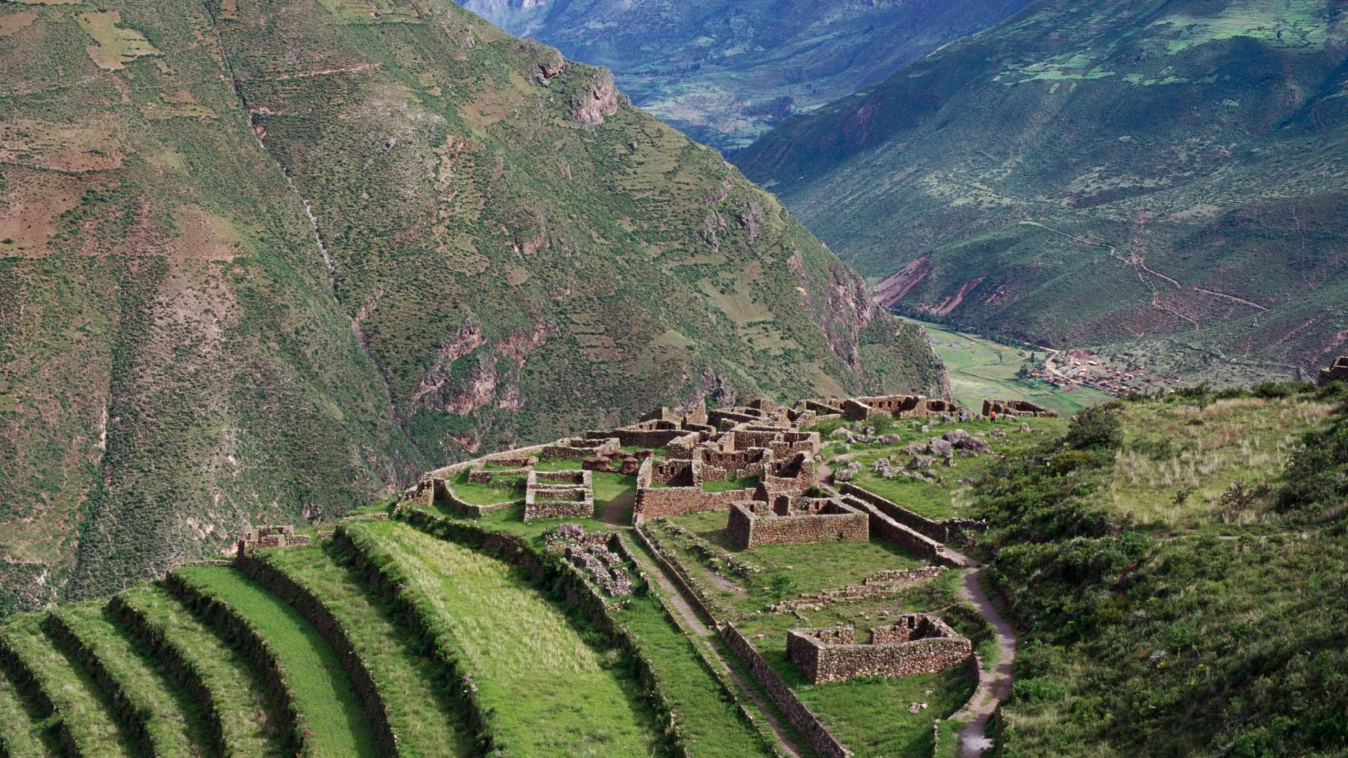 1920x1080 Ruins Peru wallpaper
