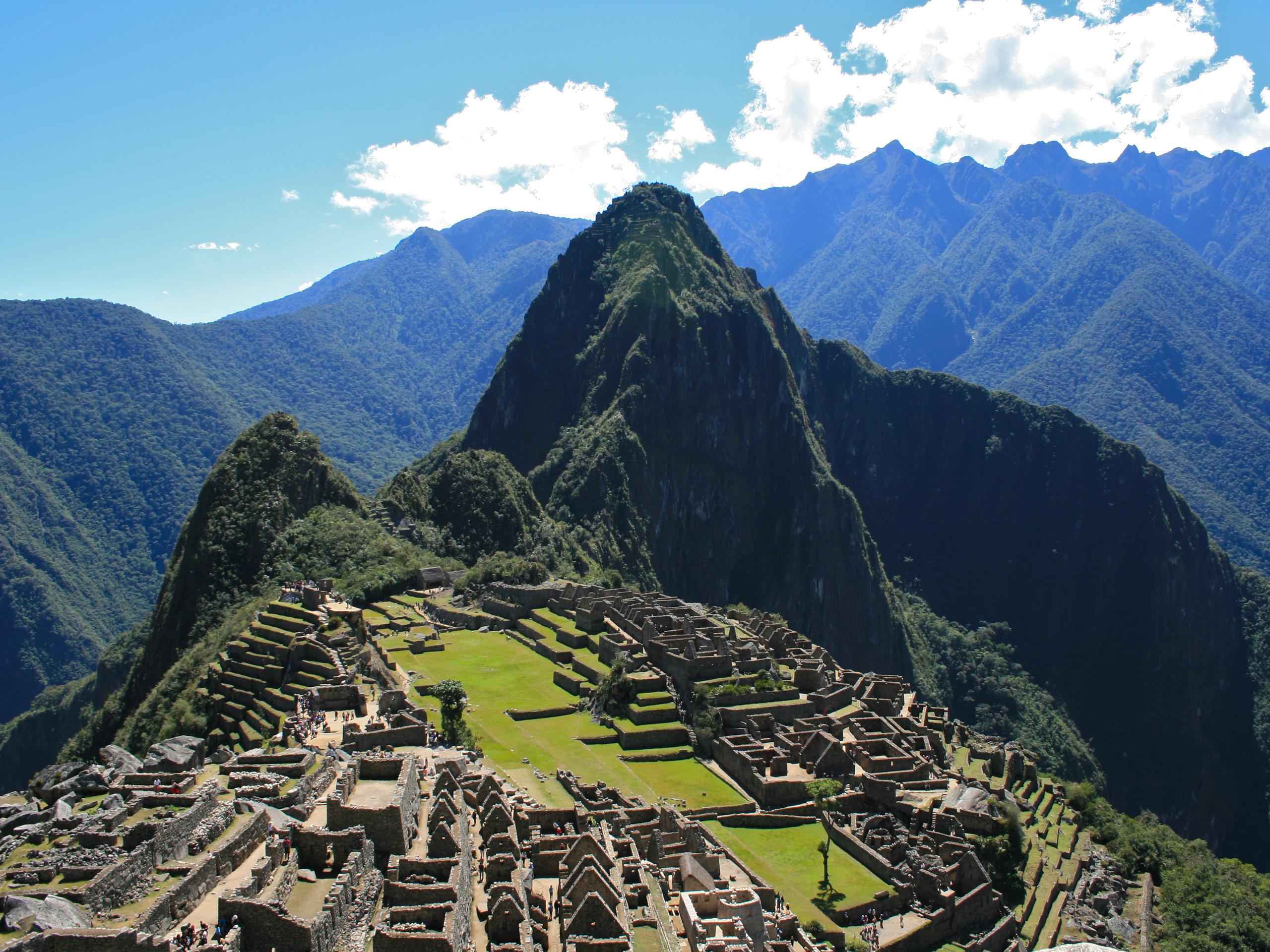 Machu Picchu Peru Wallpaper