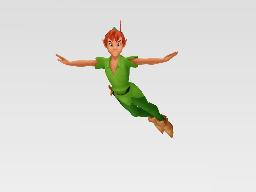 [MMD/KH] Peter Pan by MMDMODELSALL ...