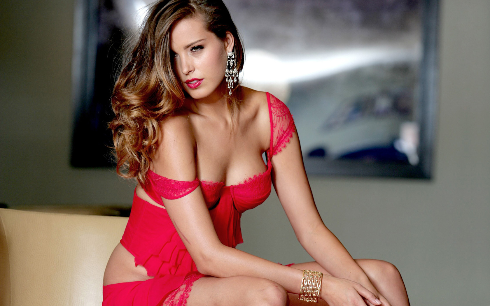 Related wallpapers. Petra Nemcova Smile