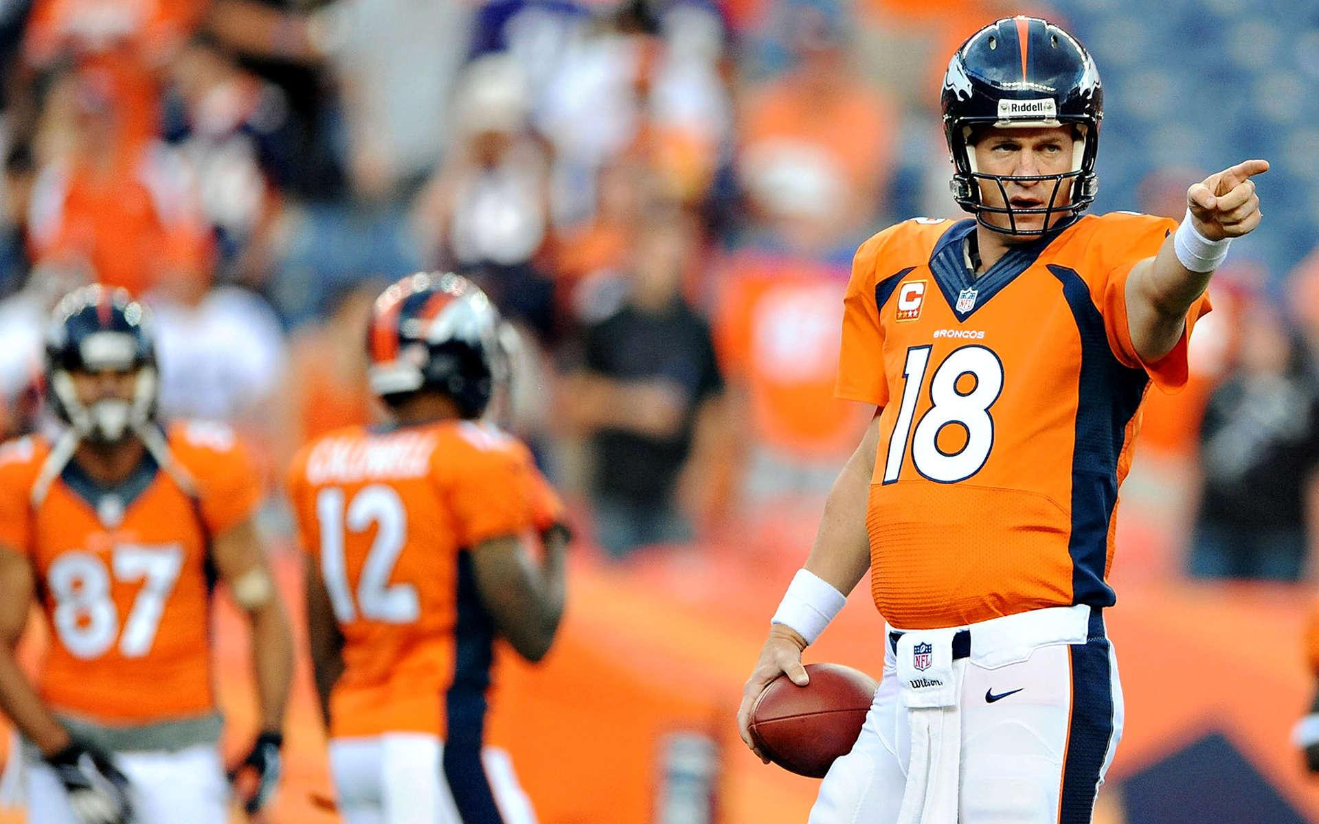 ... Peyton Manning Quarterback ...