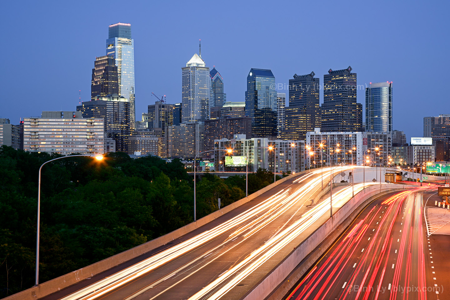 Philadelphia Skyline Desktop Wallpaper #1