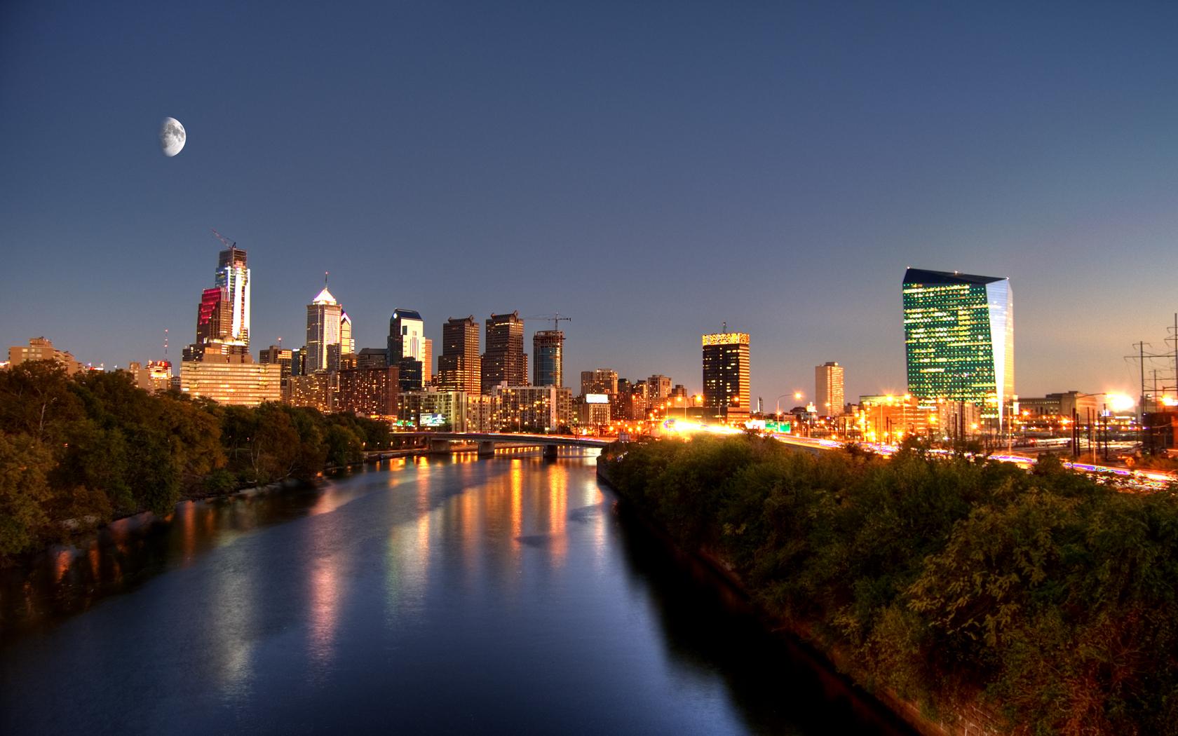 File:Philadelphia skyline sunset.jpg