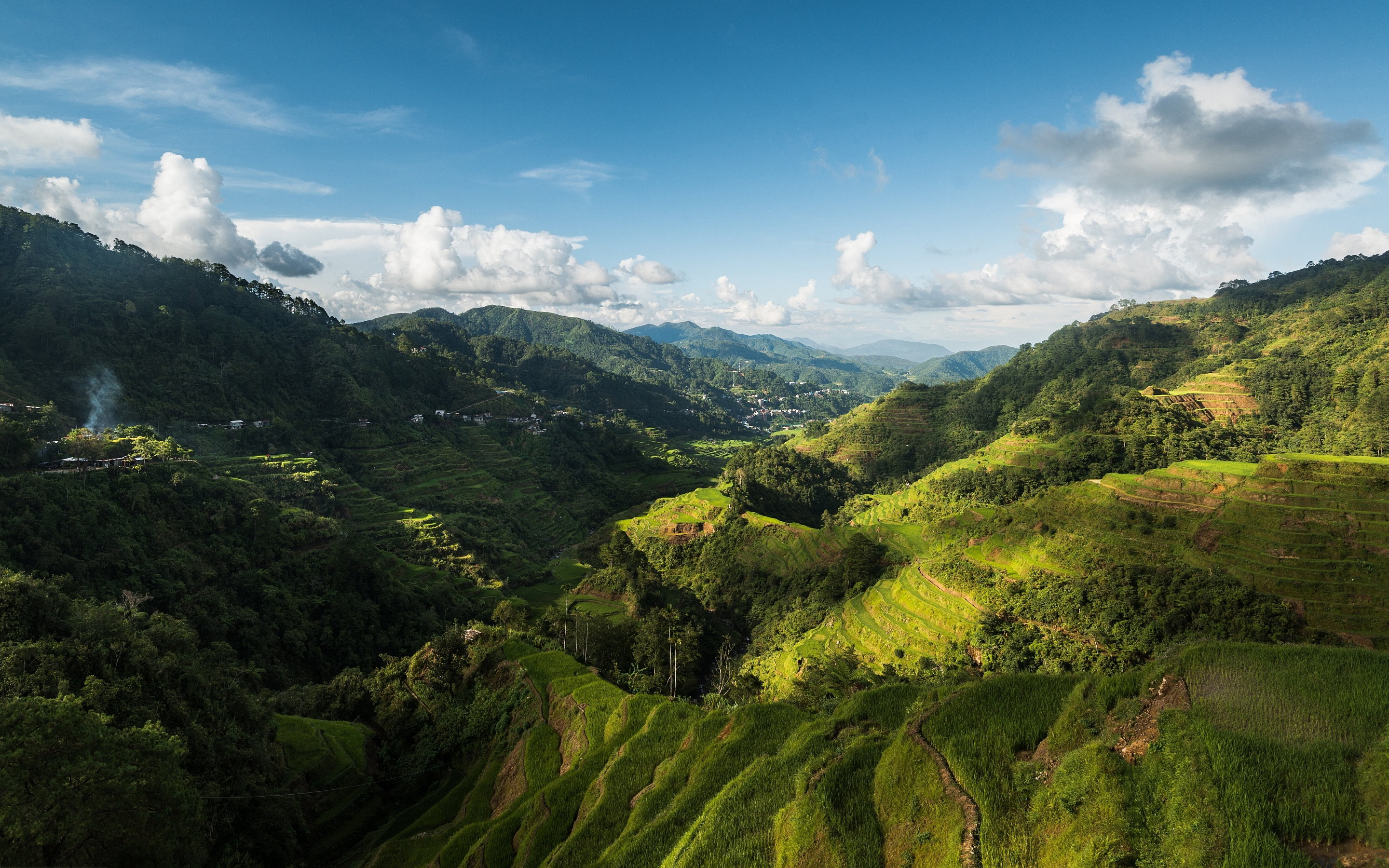 Philippines countryside