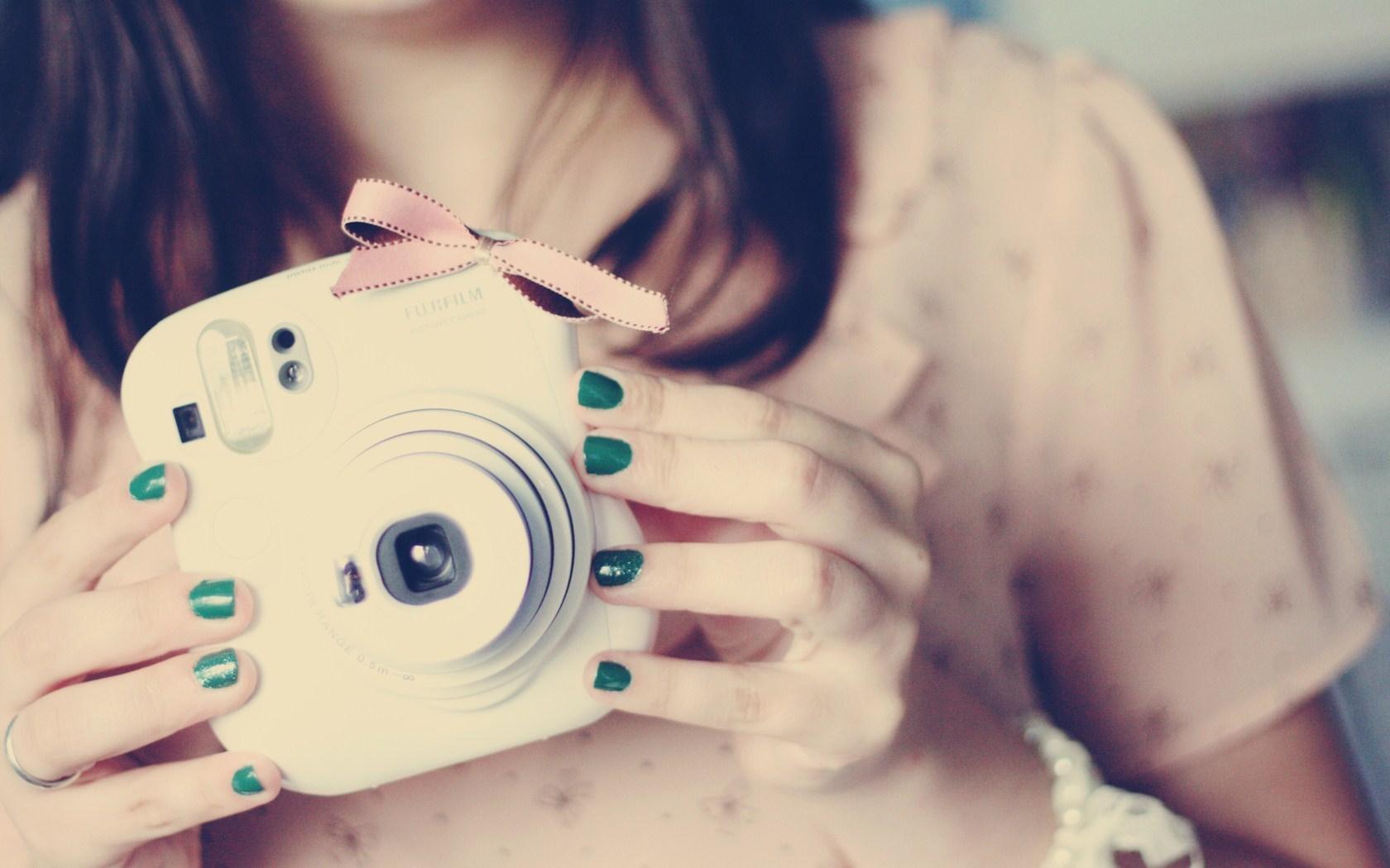 Photo Girl Camera Mood