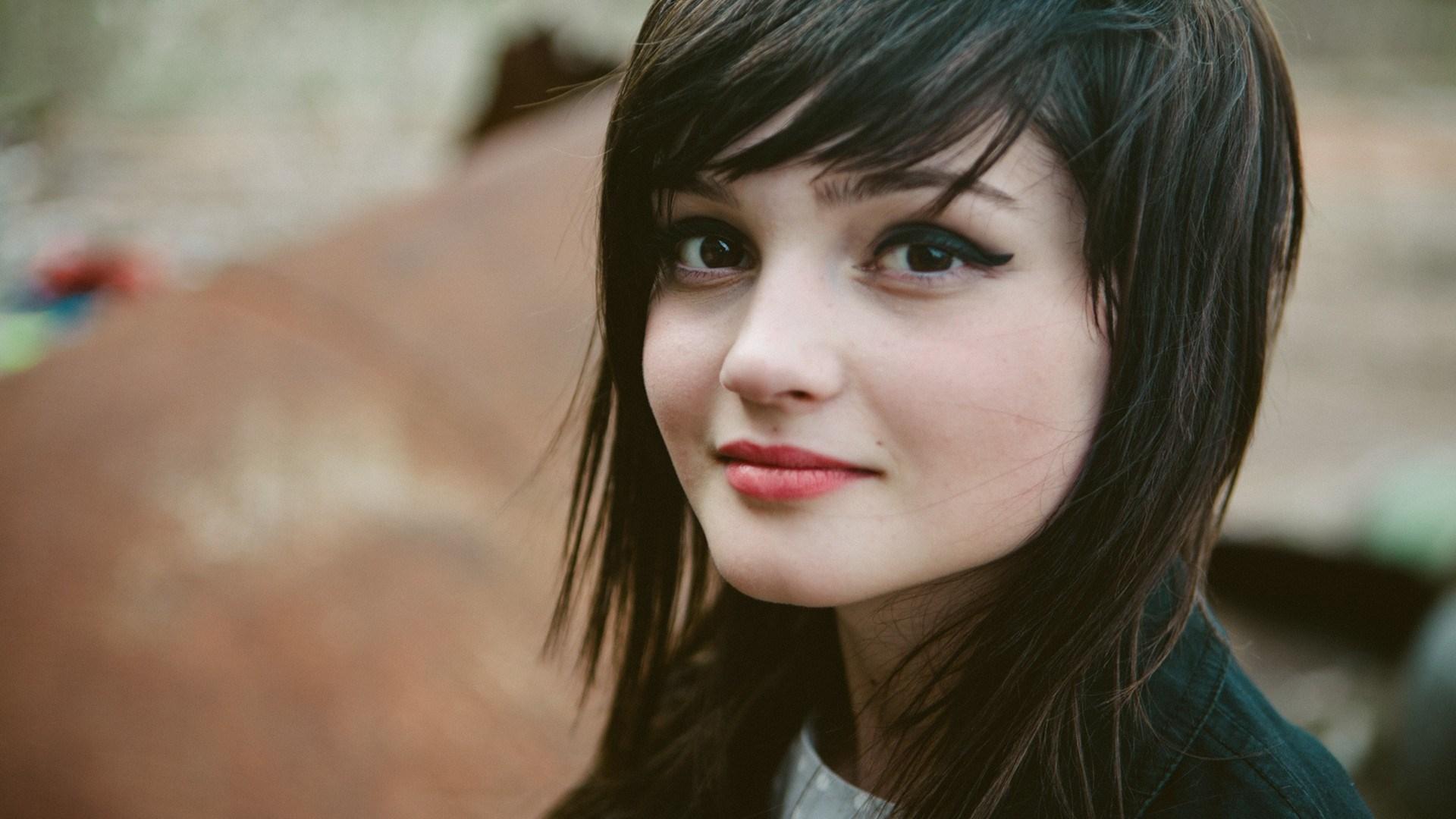 Photo Lovely Girl Smile
