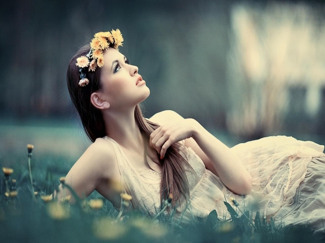Wearing Flower Ring Girl Photography Facebook Timeline Cover