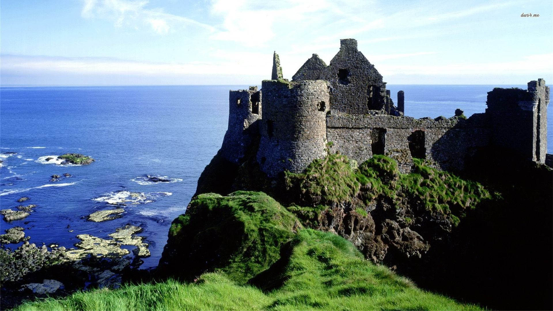 Dunluce Castle, Ireland wallpaper 1280x800 Dunluce Castle, Ireland