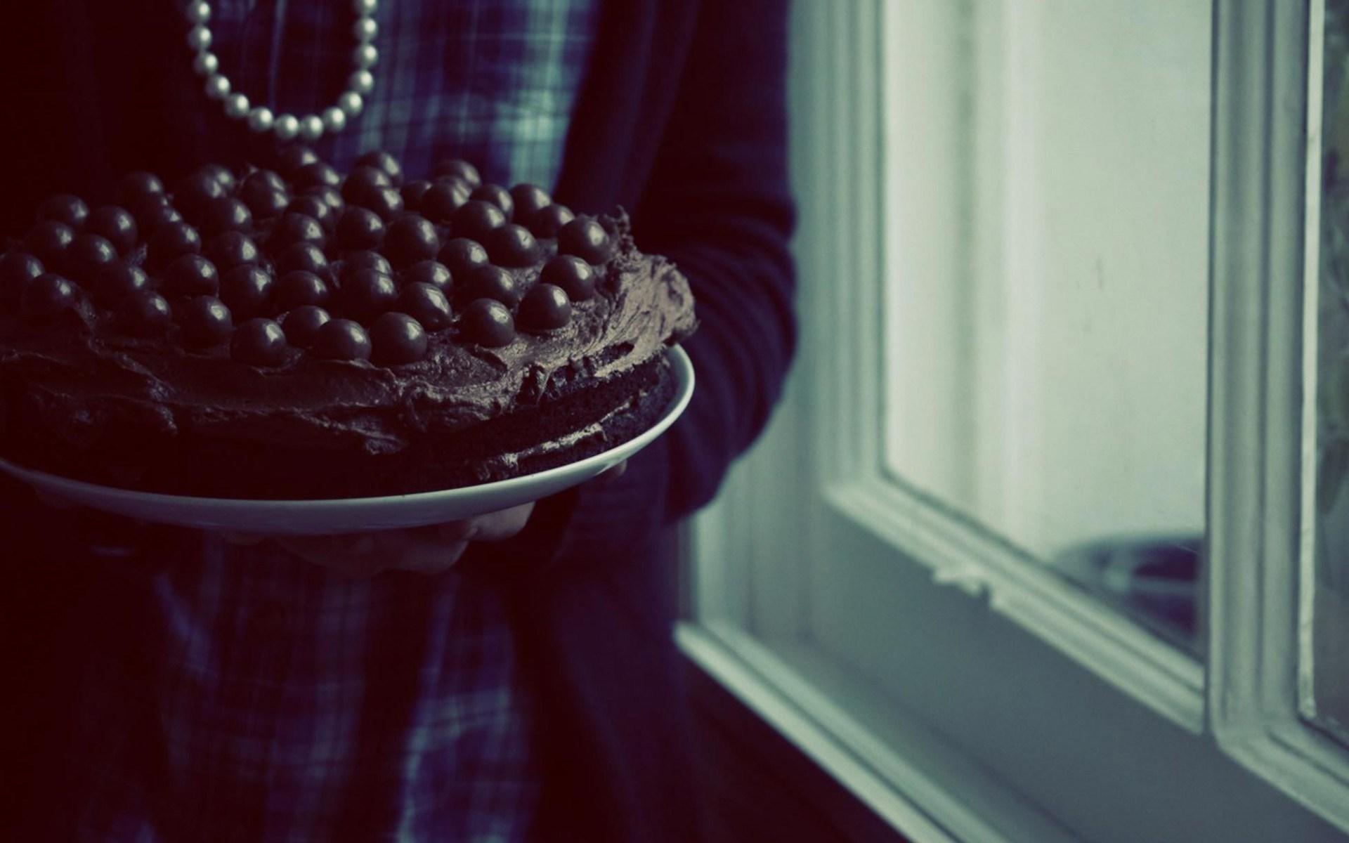 Pie Cake Chocolate Girl