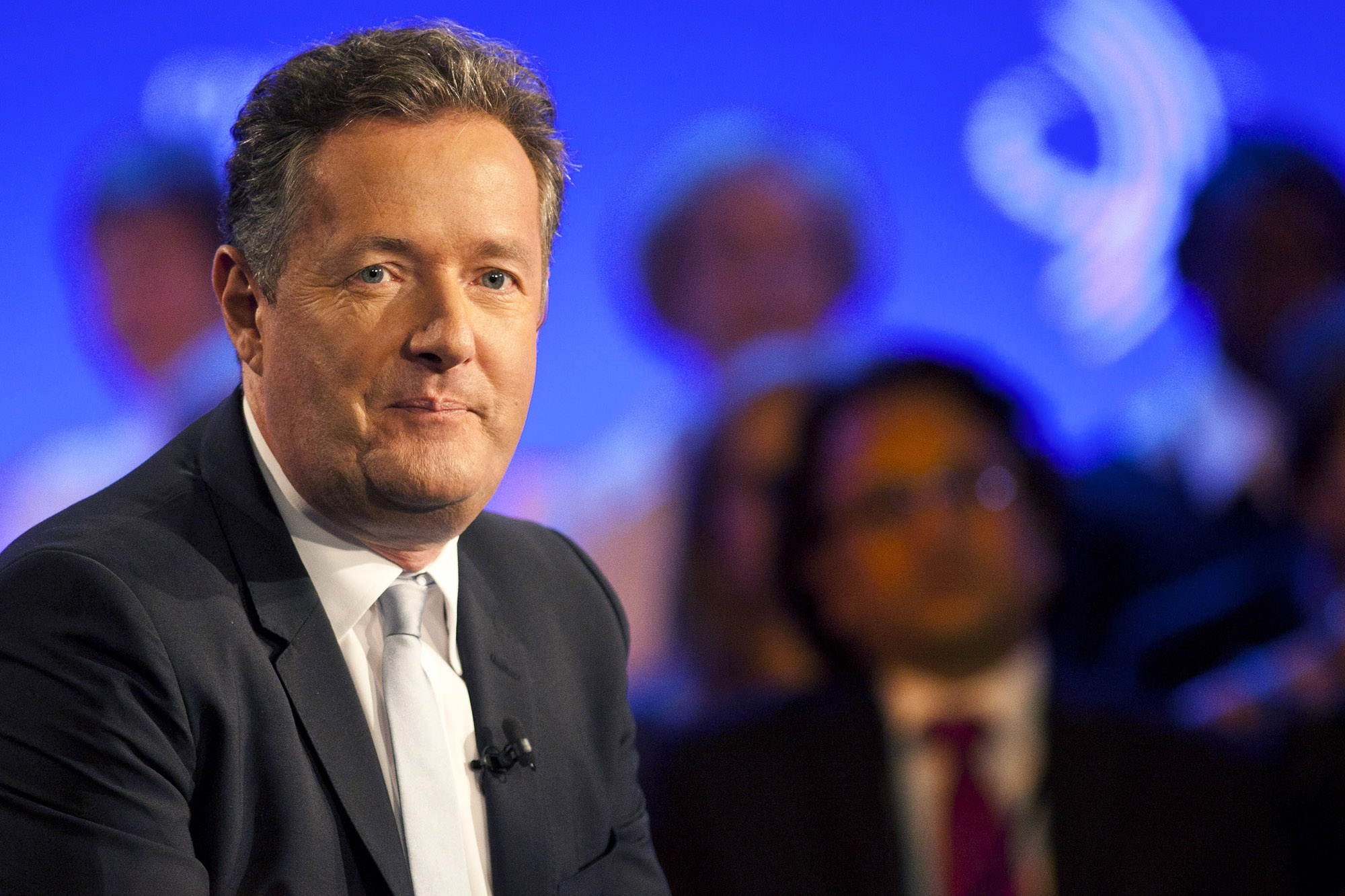 "Piers Morgan got props for ""Shooting Straight"" from luminaries like Barbara Walters. Photo: Getty Images"