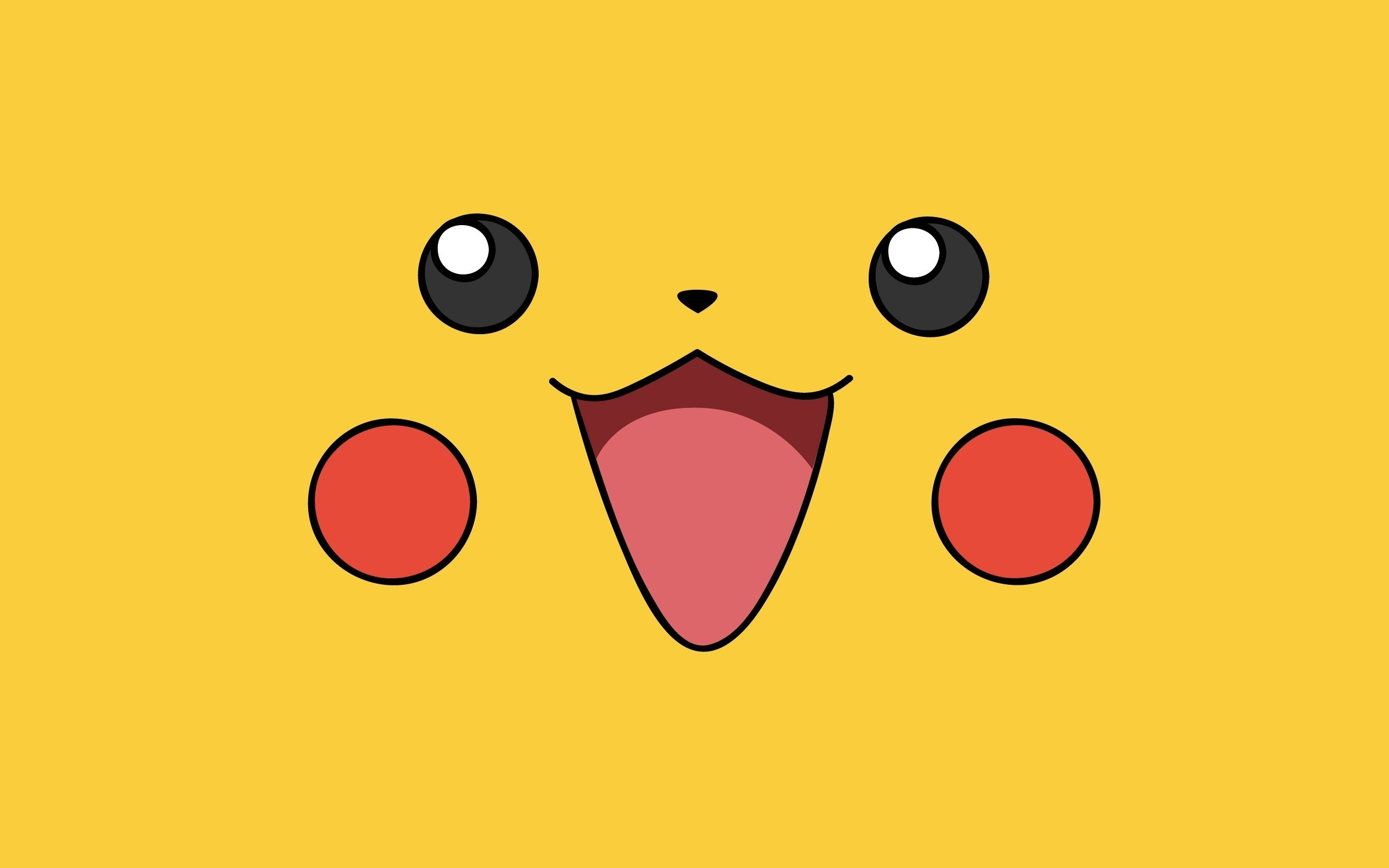 Pikachu Pokemon Cute Face Creative Cartoon