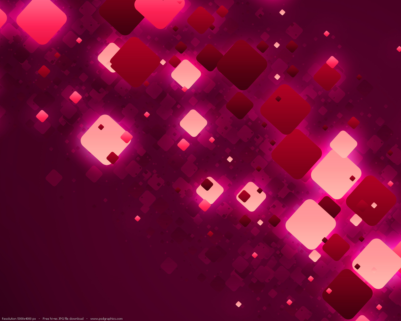 ... Pink Abstract Design HD Wallpaper